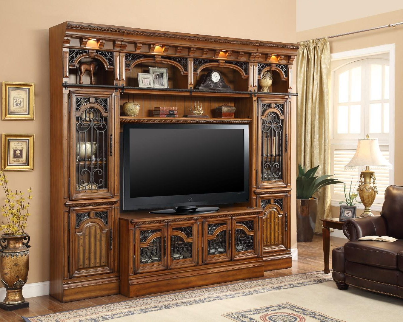 The Barcelona 60 Inch Tv Wall Unit – Office Furniture, Home Office With Regard To Most Current 60 Inch Tv Wall Units (View 19 of 20)