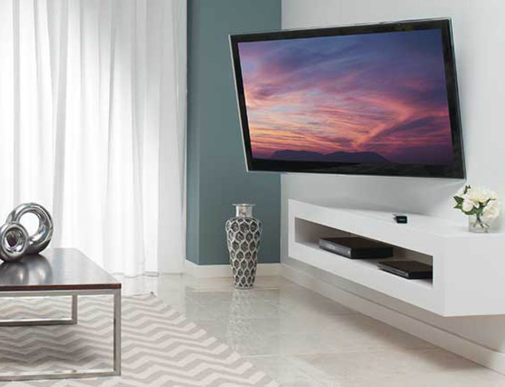 Tilted Wall Mount For Tv Intended For Well Known Sanus Simplicity Slf (View 7 of 20)