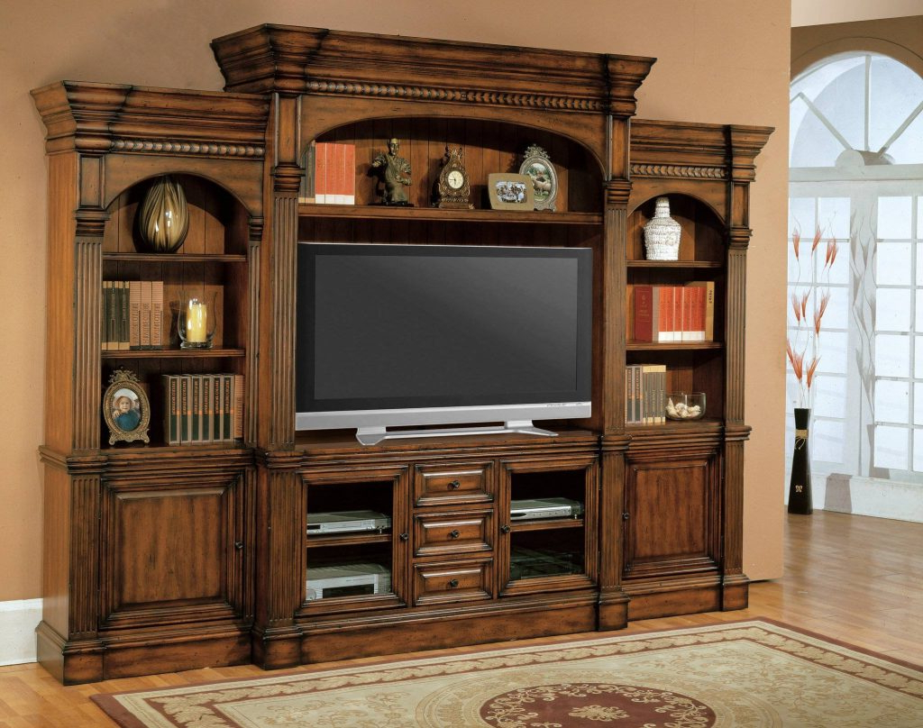 Traditional Tv Cabinets Regarding Trendy Traditional Tv Flat Screen Cabinet – Dayoftheyear (View 5 of 20)