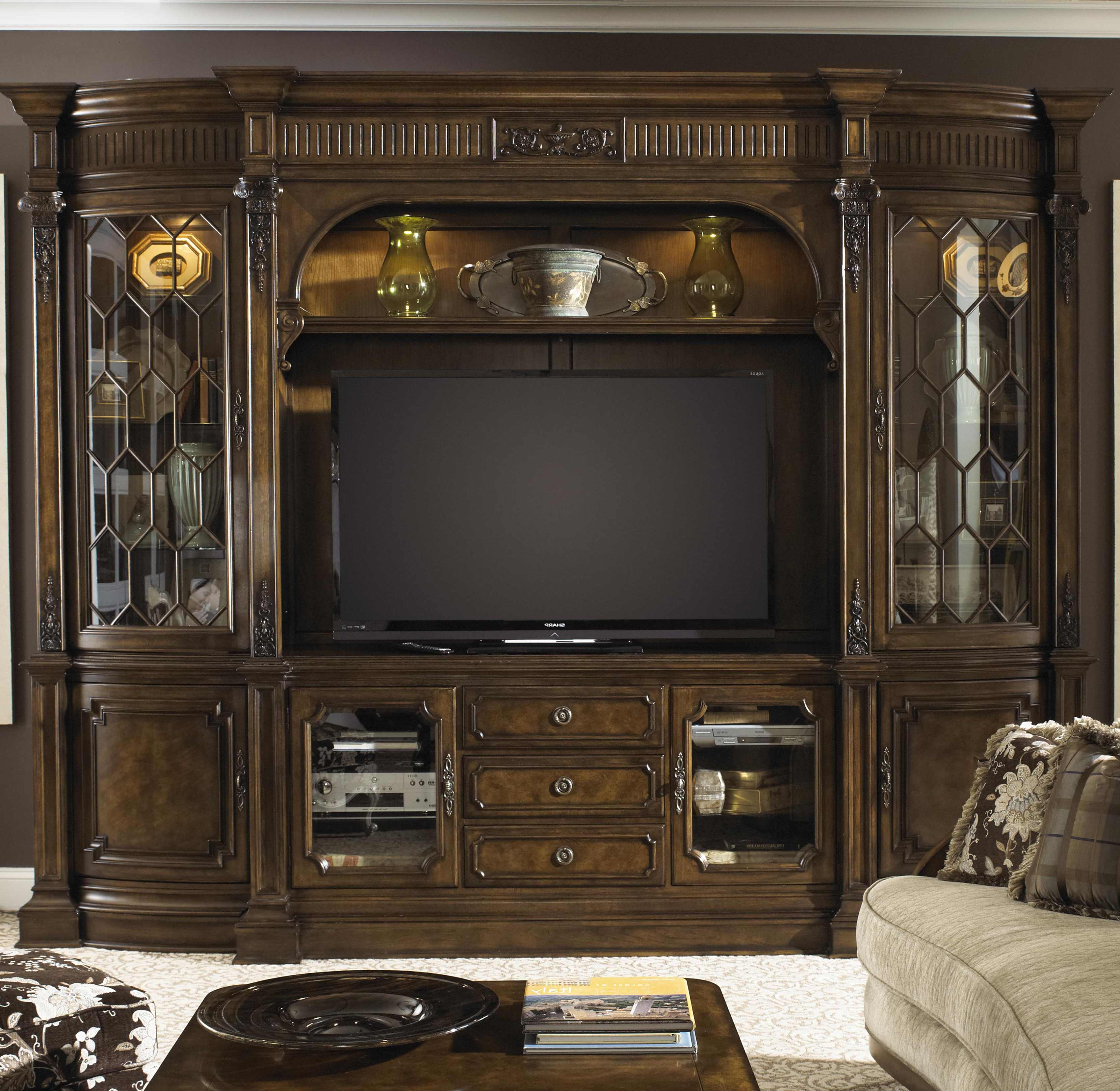 Traditional Tv Cabinets Within Trendy Traditional Entertainment Center Wall Unitfine Furniture Design (View 7 of 20)