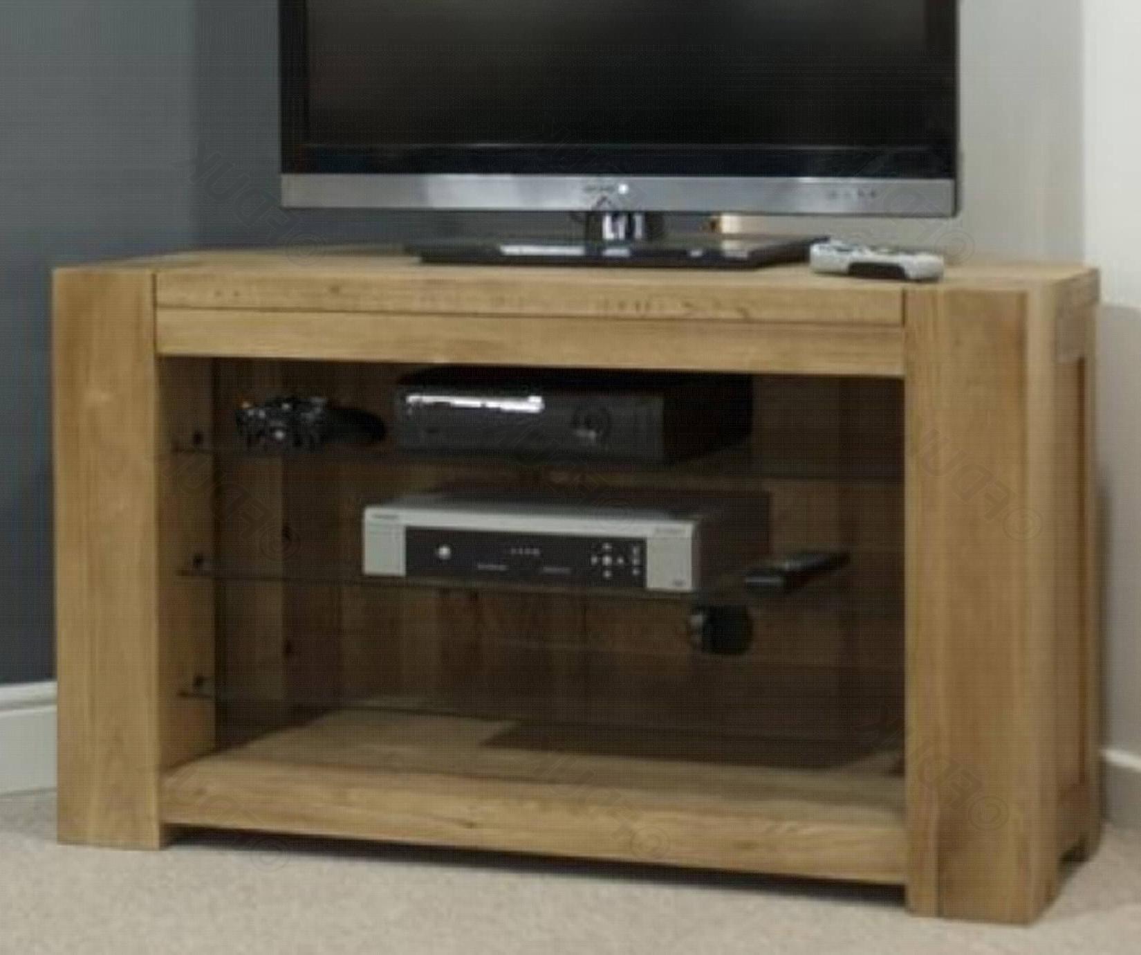 Trend Oak Corner Tv Unit (View 9 of 20)