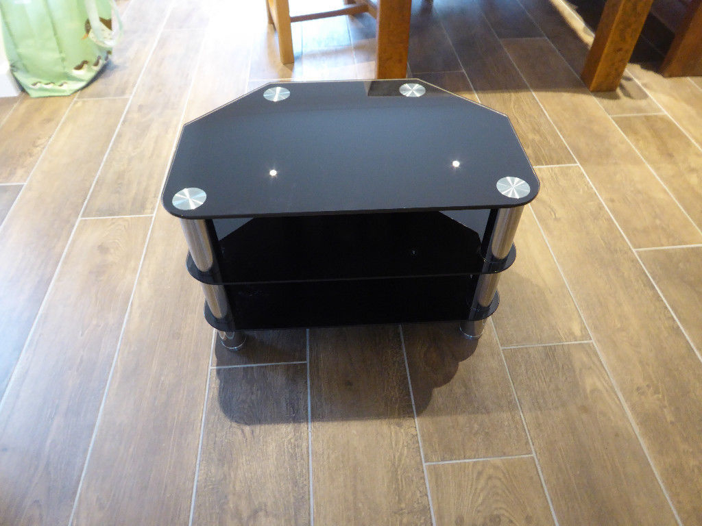Trendy 60 Cm High Tv Stand With Regard To Tv Stand Glass Excellent Condition Buy Or Sell – Find It Used (View 18 of 20)