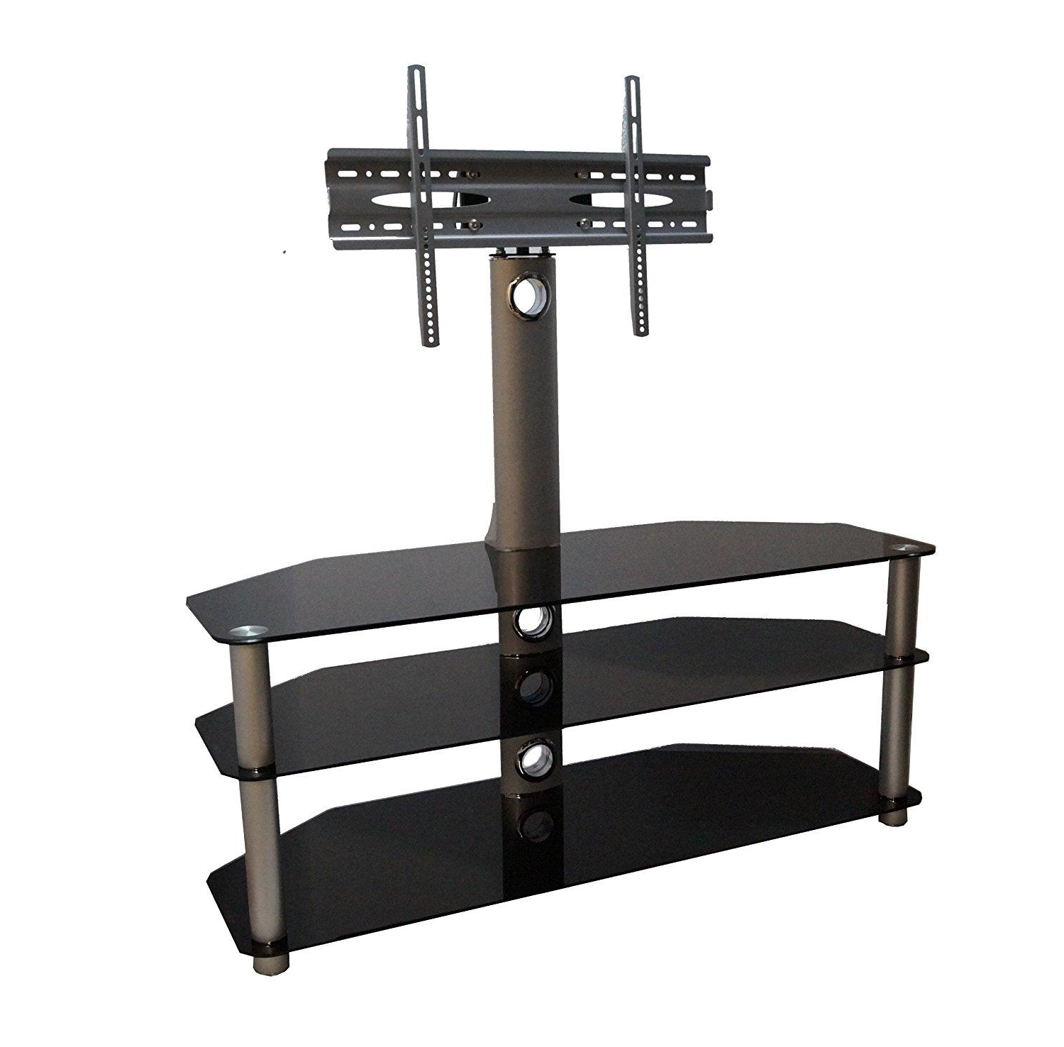 Trendy Cantilever Tv Stand For 42 Up To 60 Inch Led, Lcd & Plasma Screens In Upright Tv Stands (View 12 of 20)