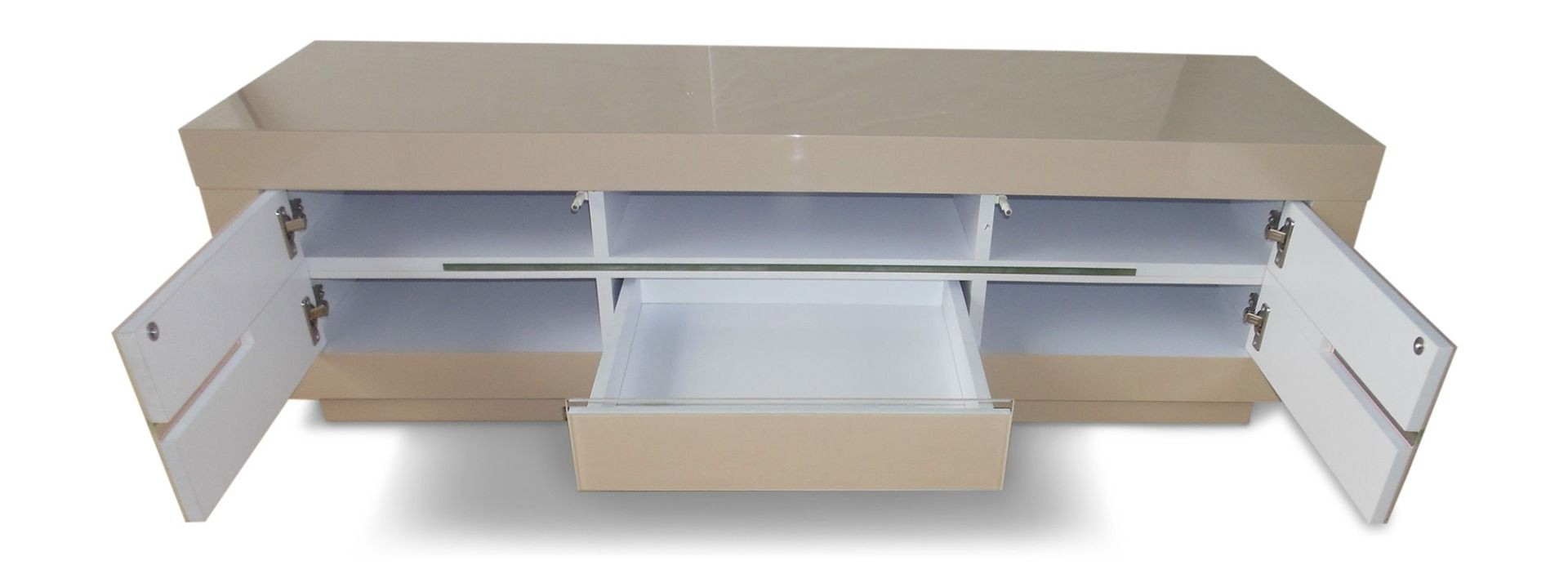 Featured Photo of Cream Gloss Tv Stands