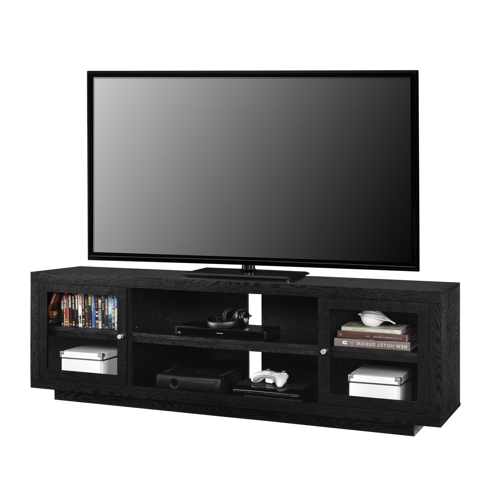 Trendy Glass Tv Cabinets With Doors Within Tv Cabinet With Glass Doors (View 17 of 20)