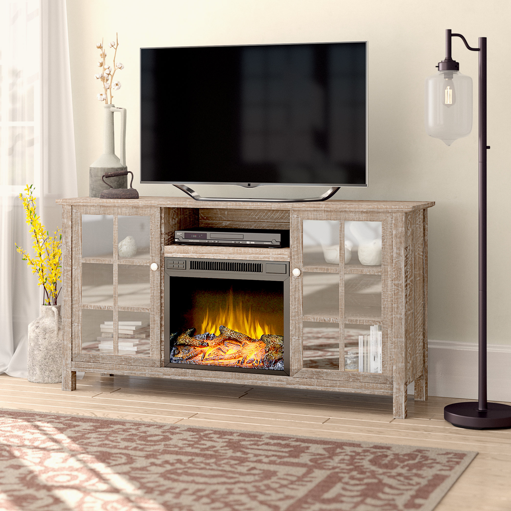 Trendy Laurel Foundry Modern Farmhouse Benoit Tv Stand For Tvs Up To 65 Inside Caden 63 Inch Tv Stands (View 16 of 20)