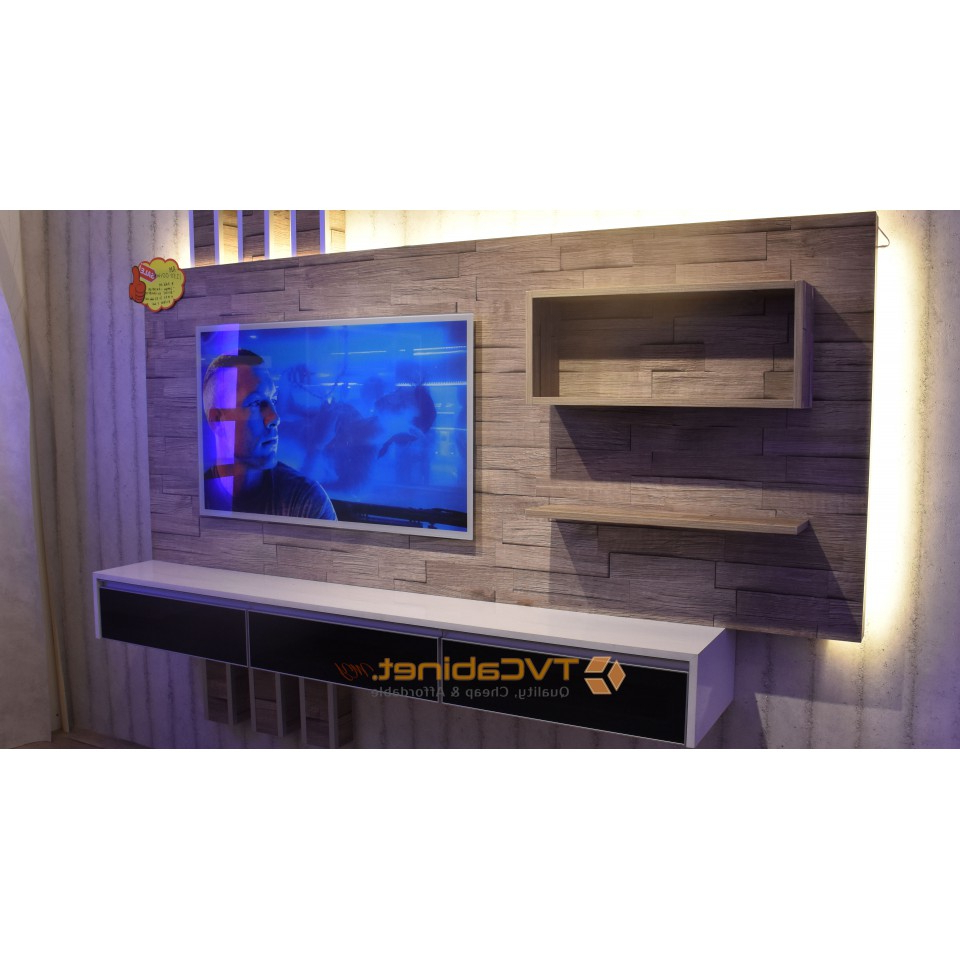 Trendy Modern & Contemporary Tv Cabinet Design Tc022 Pertaining To Modern Tv Cabinets Designs (View 2 of 20)