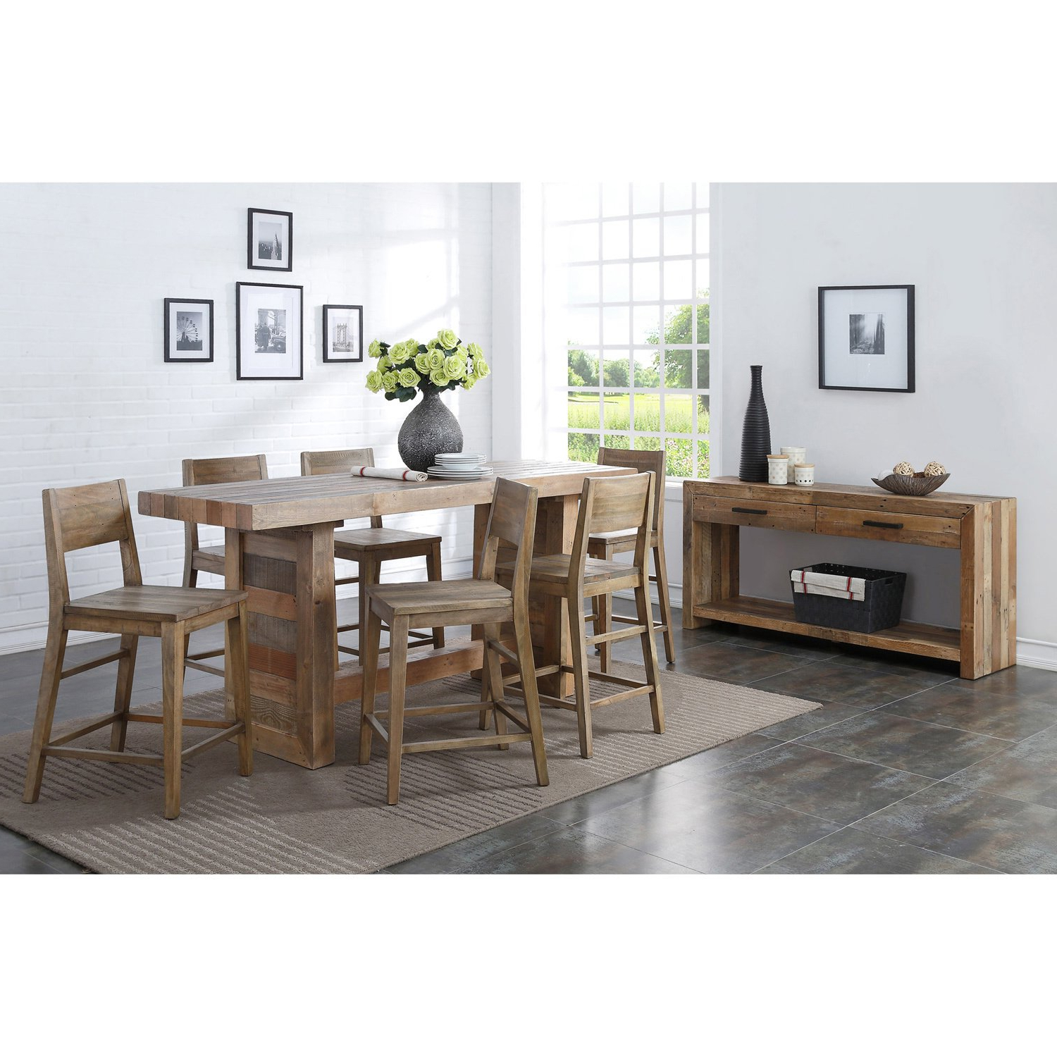 Trendy Oscar 60 Inch Console Tables Throughout Shop Oscar Grey Reclaimed Wood Console Tablekosas Home – Free (View 17 of 20)
