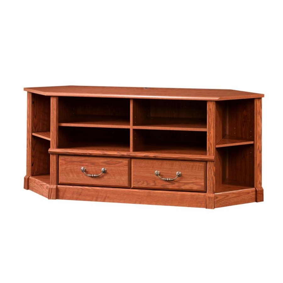 Trendy Sauder Tv Stand At Lowes Regarding Orange Tv Stands (View 17 of 20)