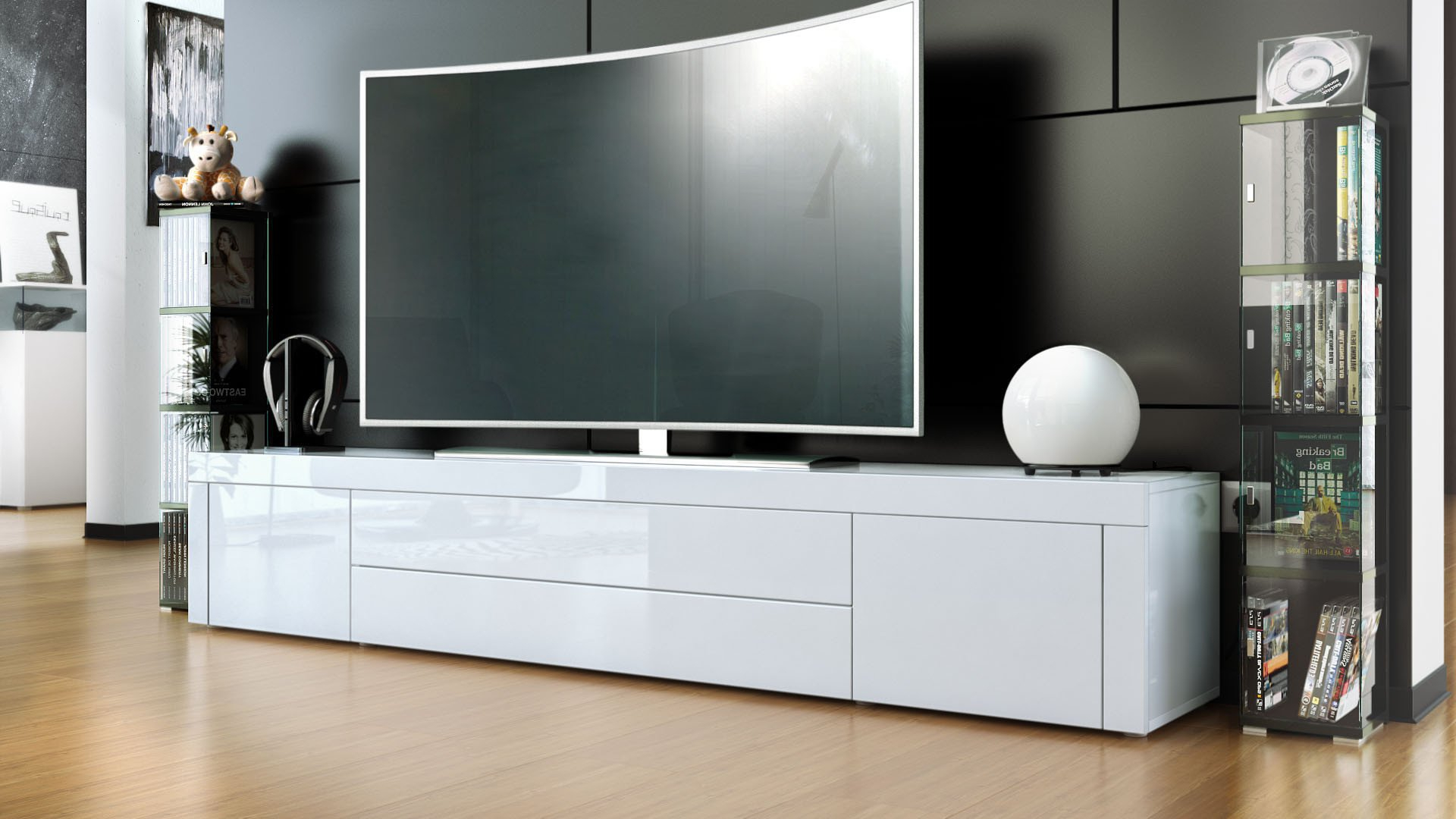 Trendy Top 3 Best Entertainment Centers And Tv Stands For A 70 Inch Tv Regarding Tv Stands For 70 Flat Screen (View 14 of 20)
