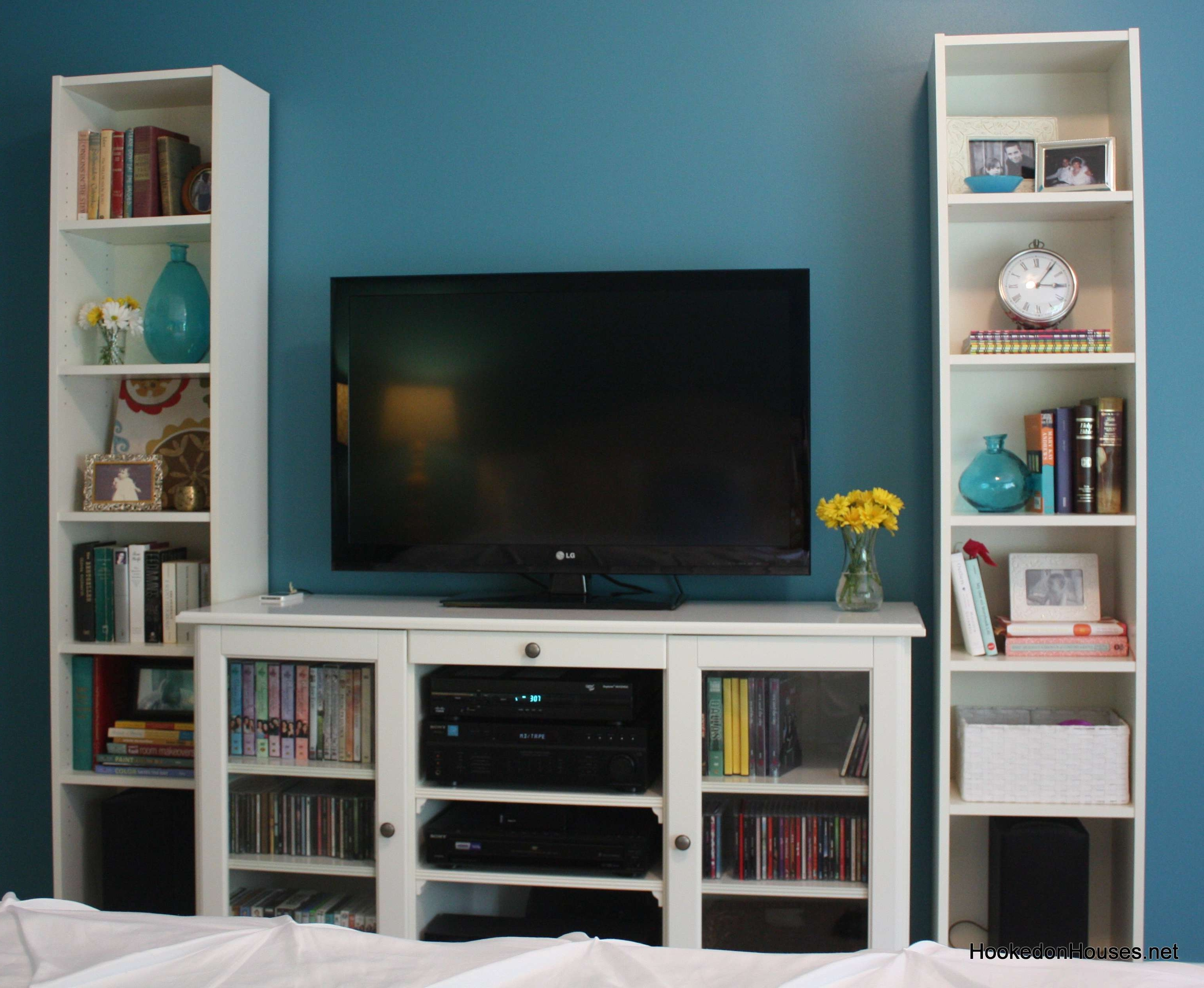 Trendy Tv Cabinet And Bookshelves Hooked On Houses For Bookshelf Stands In Tv Stands Bookshelf Combo (View 2 of 20)