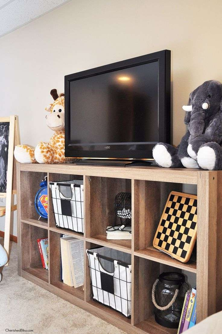 Featured Photo of Tv Stands With Storage Baskets
