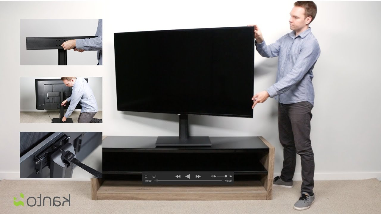 Tts100 Tabletop Tv Stand (View 7 of 20)
