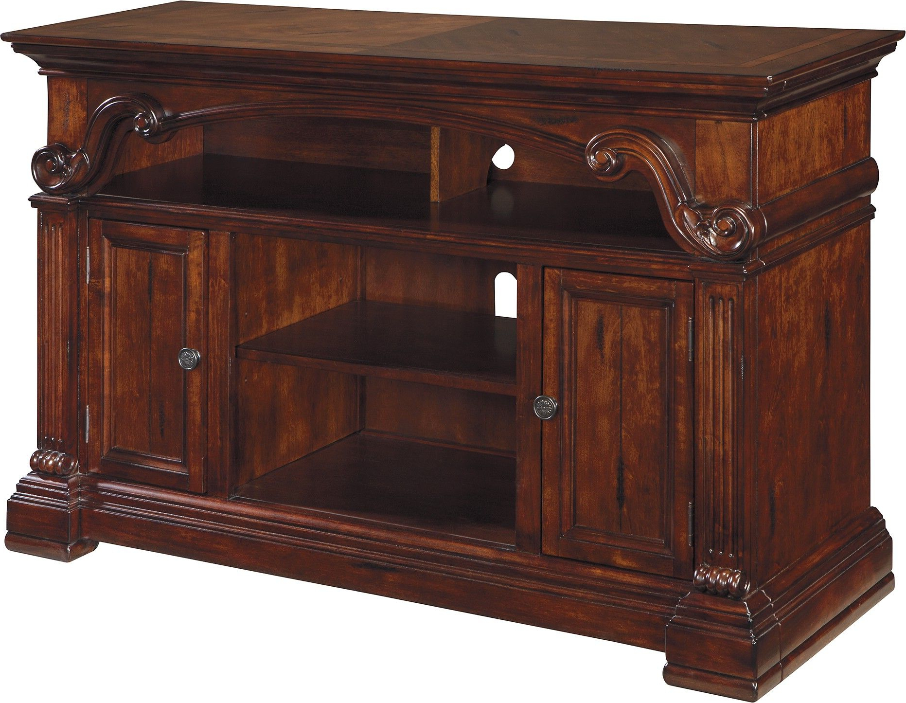 Tv Cabinet With Doors That Enclose Fireplace Stand Home Depot Target With Famous Enclosed Tv Cabinets With Doors (View 16 of 20)
