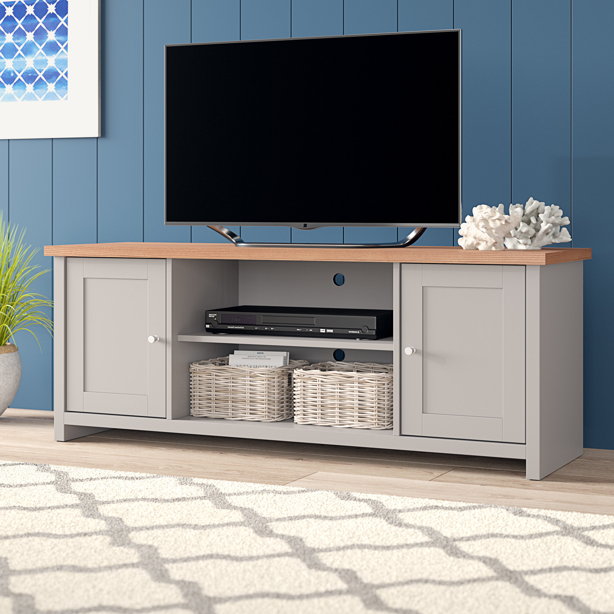 Tv Cabinets Inside Fashionable Tv Stands, Tv Cabinets & Tv Corner Units You'll Love (View 9 of 20)