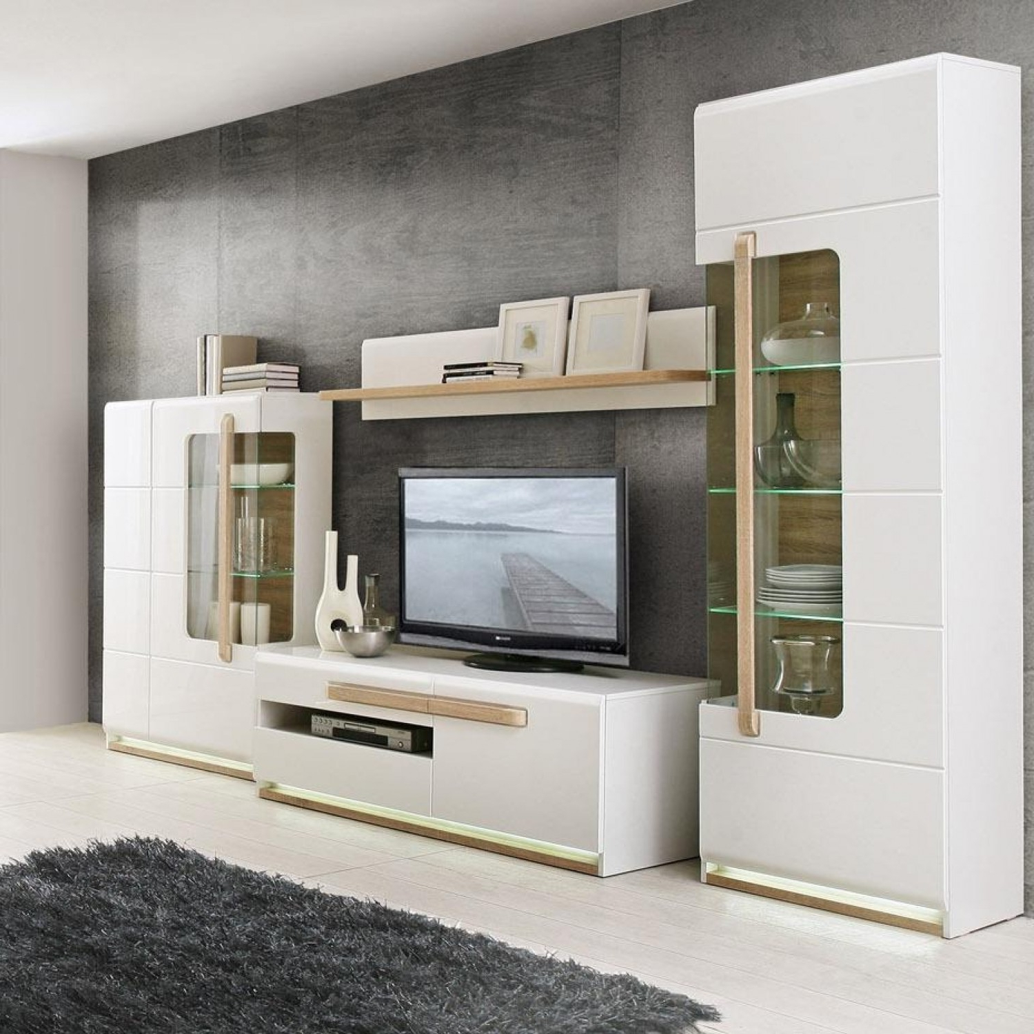 Tv Display Cabinets Inside Well Known Display Cabinet : Corner Living Room Storage Furniture Kitchen (View 6 of 20)