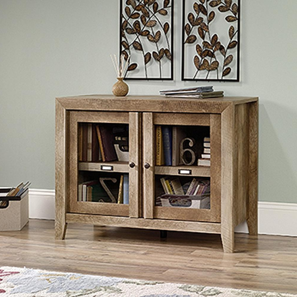 Tv Display Cabinets Pertaining To Most Recently Released Upc 042666004886 – Sauder Woodworking 418268 Dakota Pass Tv Stand (View 19 of 20)
