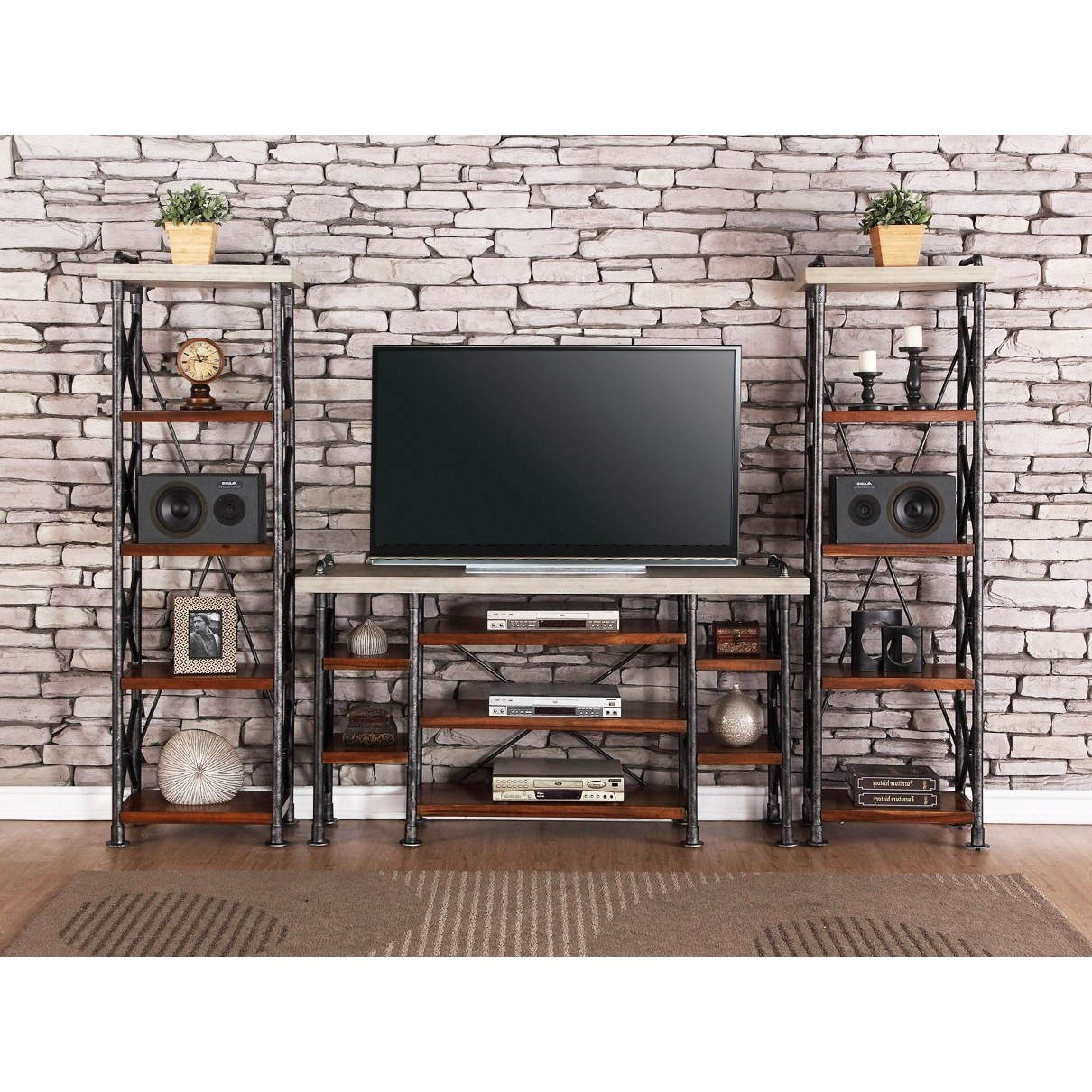 Tv Entertainment Wall Units Throughout Newest Legends Furniture Steampunk Collection Industrial Entertainment (View 20 of 20)