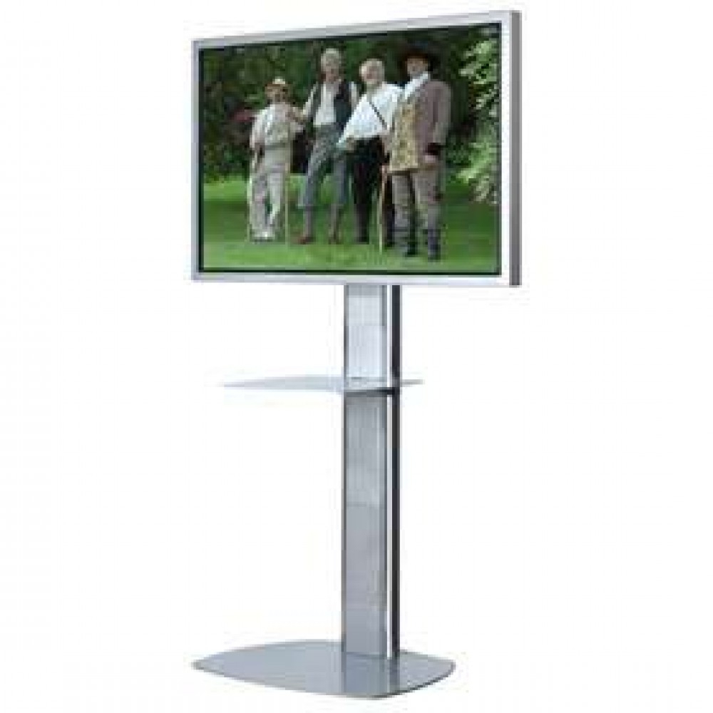 Tv On A Pole Stand Unicol Engineering Oxford Projector Stands For 2017 Dual Tv Stands (View 18 of 20)