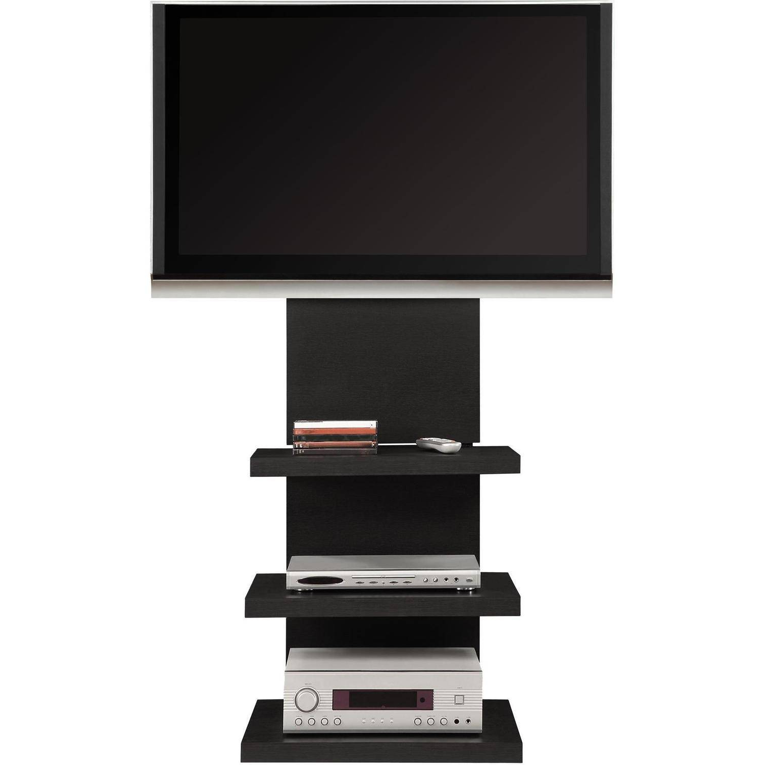 Tv Stand Altramount Television Rack Wall Shelves Media Furniture 60 Inside Famous Wall Mounted Tv Stands With Shelves (View 5 of 20)