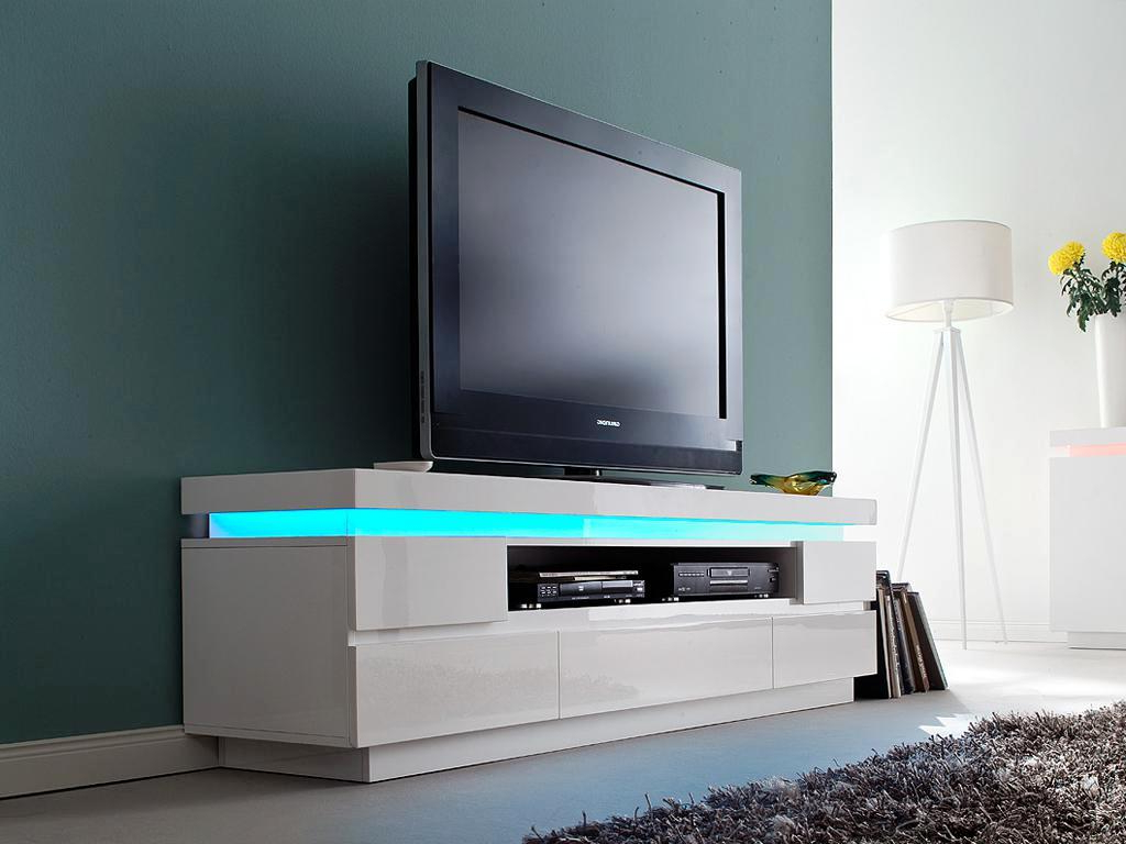 Tv Stand White Ikea Tall With Storage Cabinet Multi Use Lockable With Preferred Lockable Tv Stands (View 14 of 20)