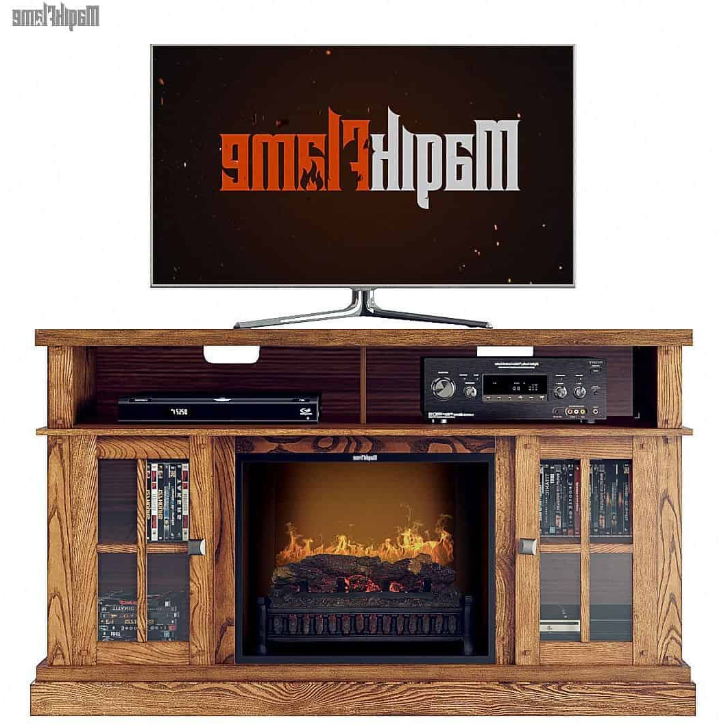 Tv Stand With Electric Fireplace Tresanti 74 Console Costco Bayside With Regard To Most Popular Murphy 72 Inch Tv Stands (View 19 of 20)