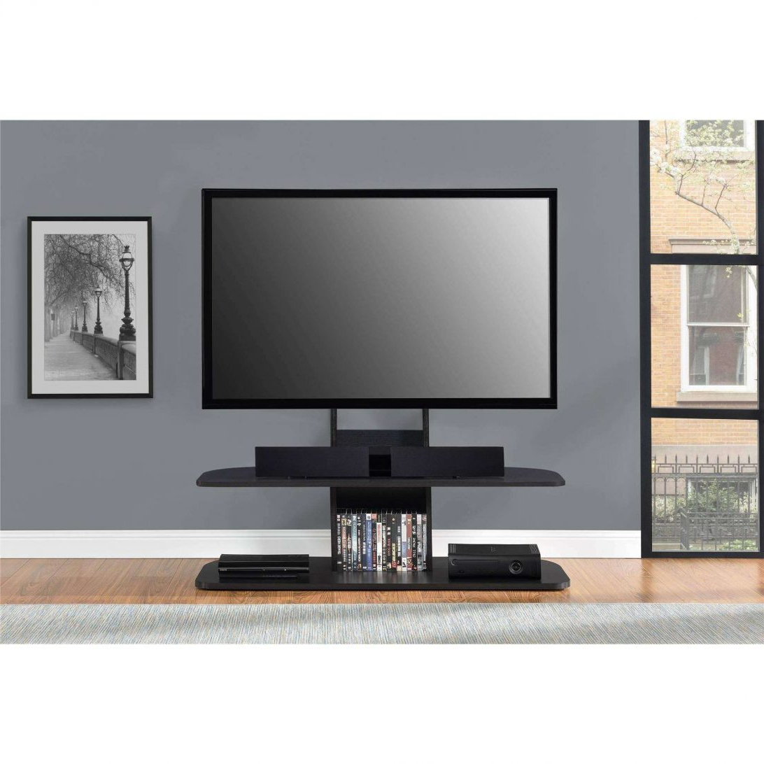 Tv Stand With Mount Swivel Floor For Most 37 To 65 Philips Tvs With Recent 65 Inch Tv Stands With Integrated Mount (View 15 of 20)