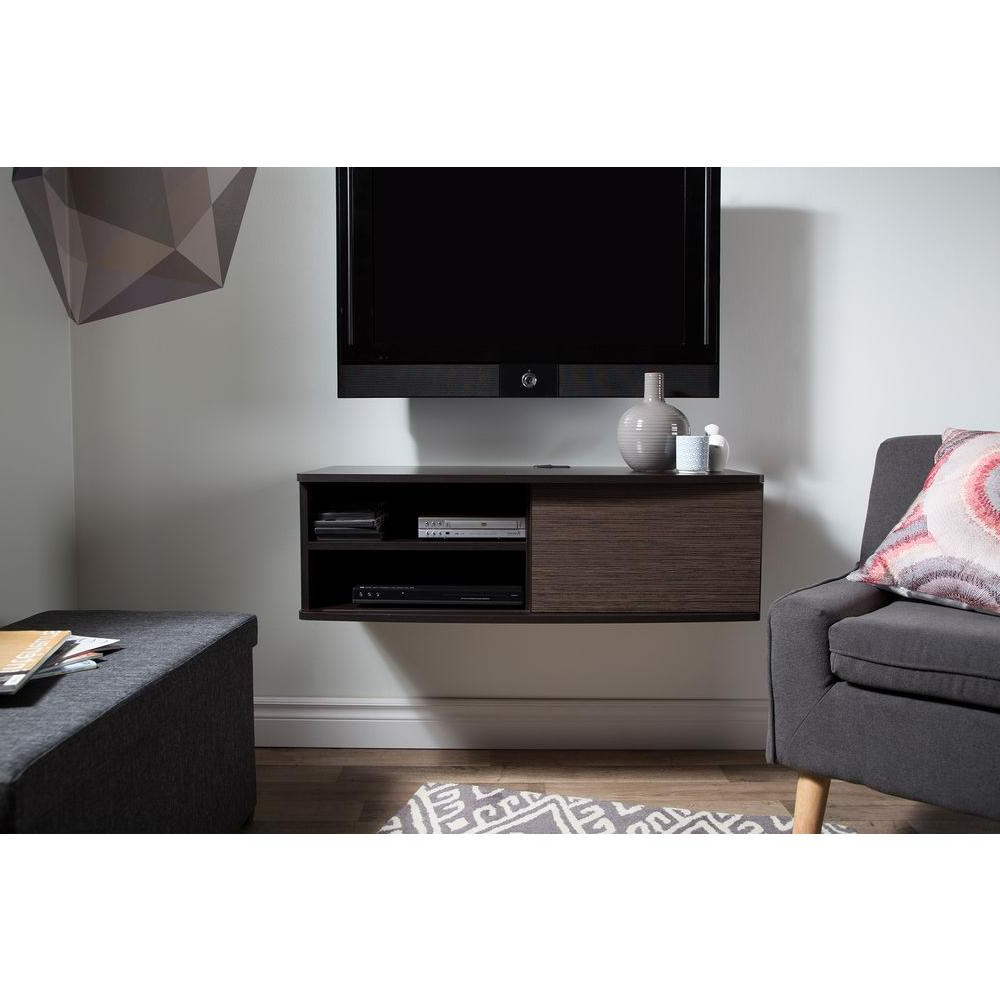Tv Stands 38 Inches Wide With Newest South Shore Agora 50 Disk Capacity 38 In (View 18 of 20)