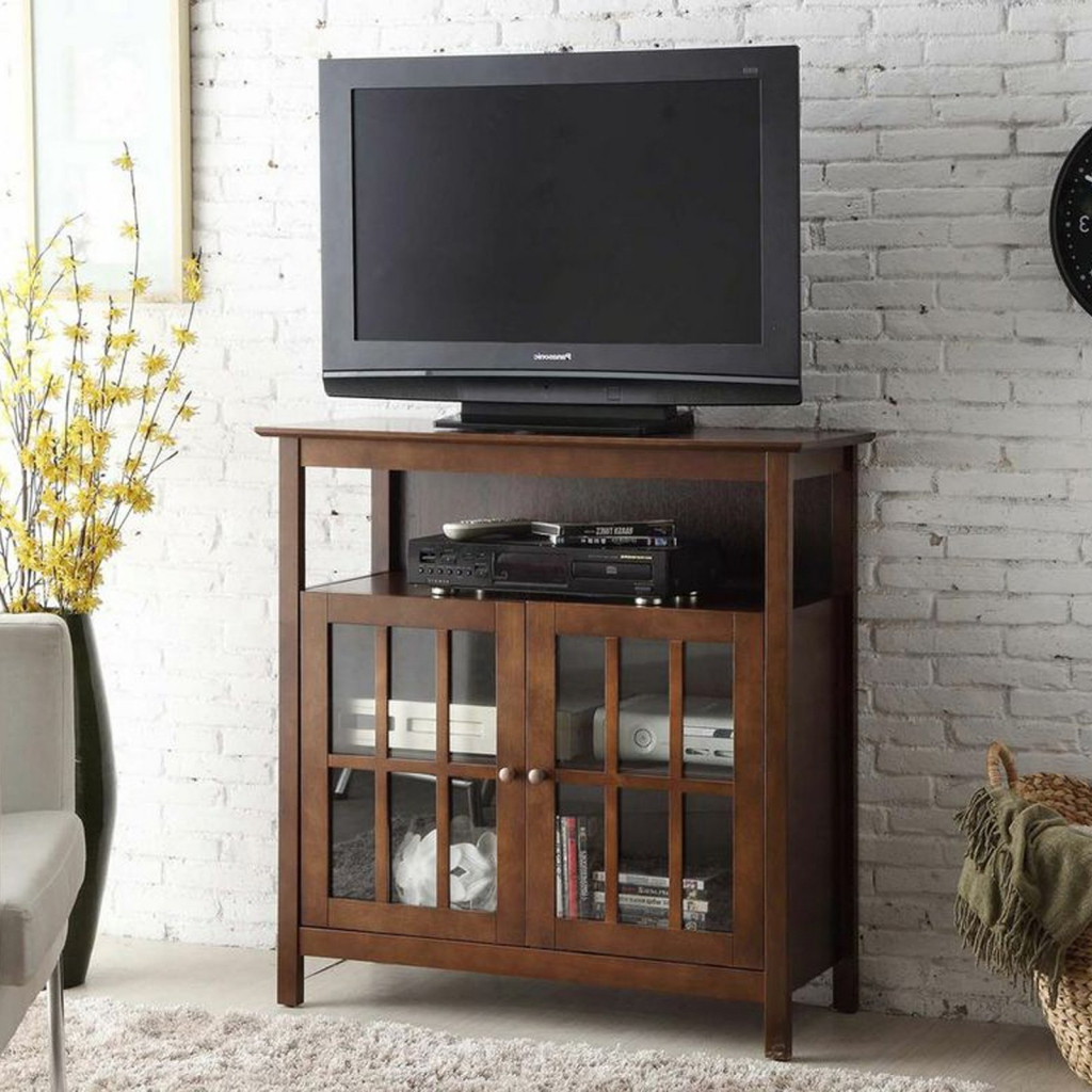 Tv Stands 40 Inches Wide Pertaining To Latest Tv Stands: Contemporary Glass Tv Stand For 40 Inch Tv Design Ideas (View 3 of 20)