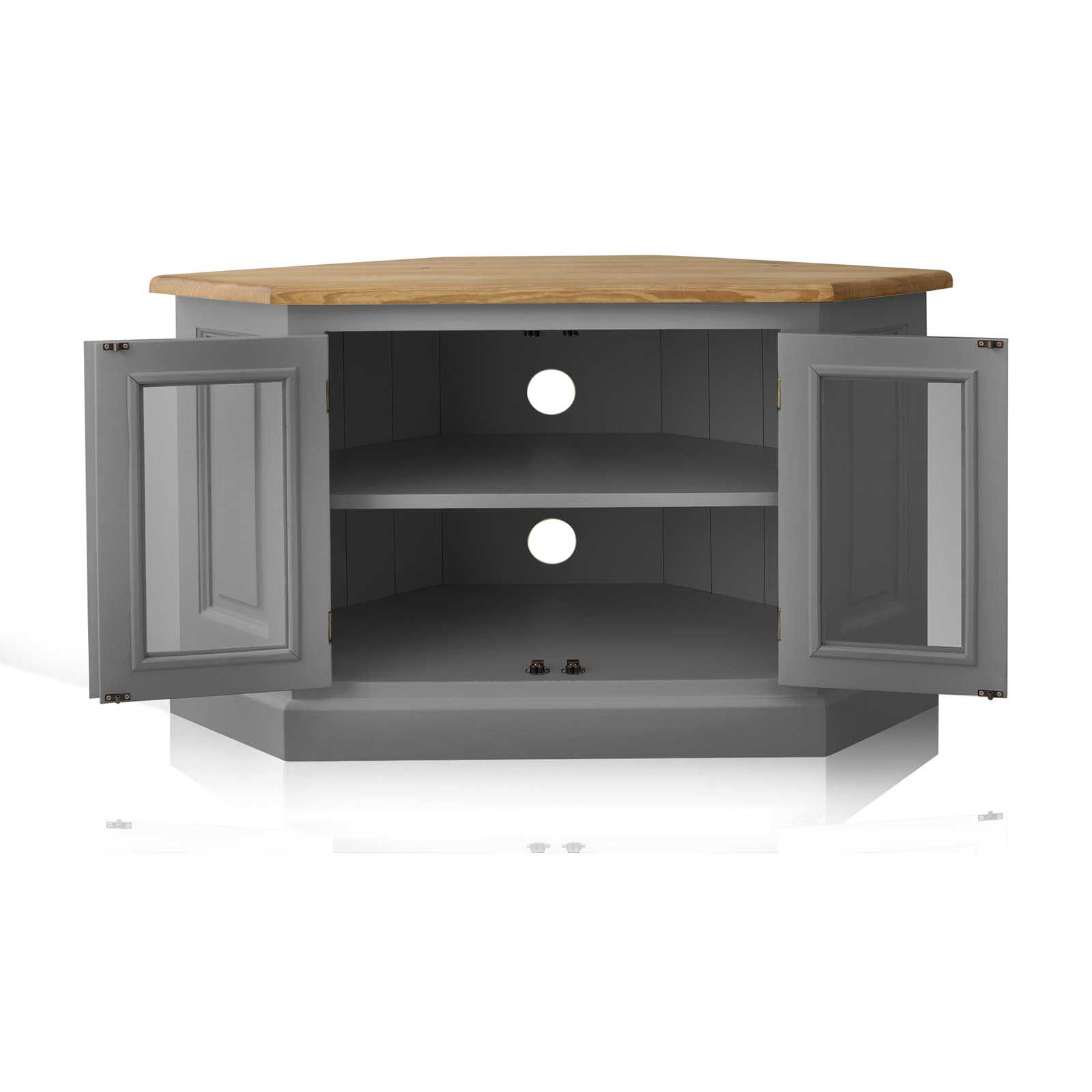 Tv Stands Costco Gray Tone Stand Cabinet With Doors Grey Corner Regarding Well Known Grey Corner Tv Stands (View 17 of 20)