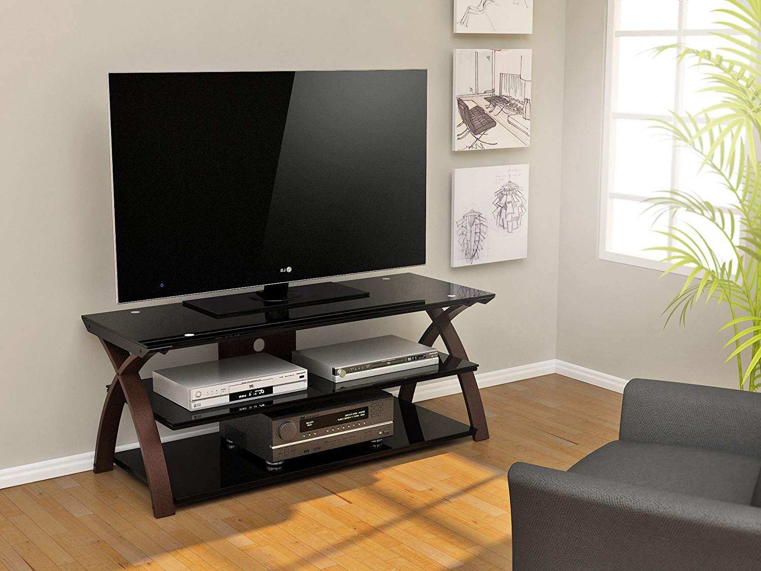 Tv Stands For 55 Inch Tv Regarding Famous 55 Inch Corner Tv Stand And Its Benefits – Furnish Ideas (View 15 of 20)
