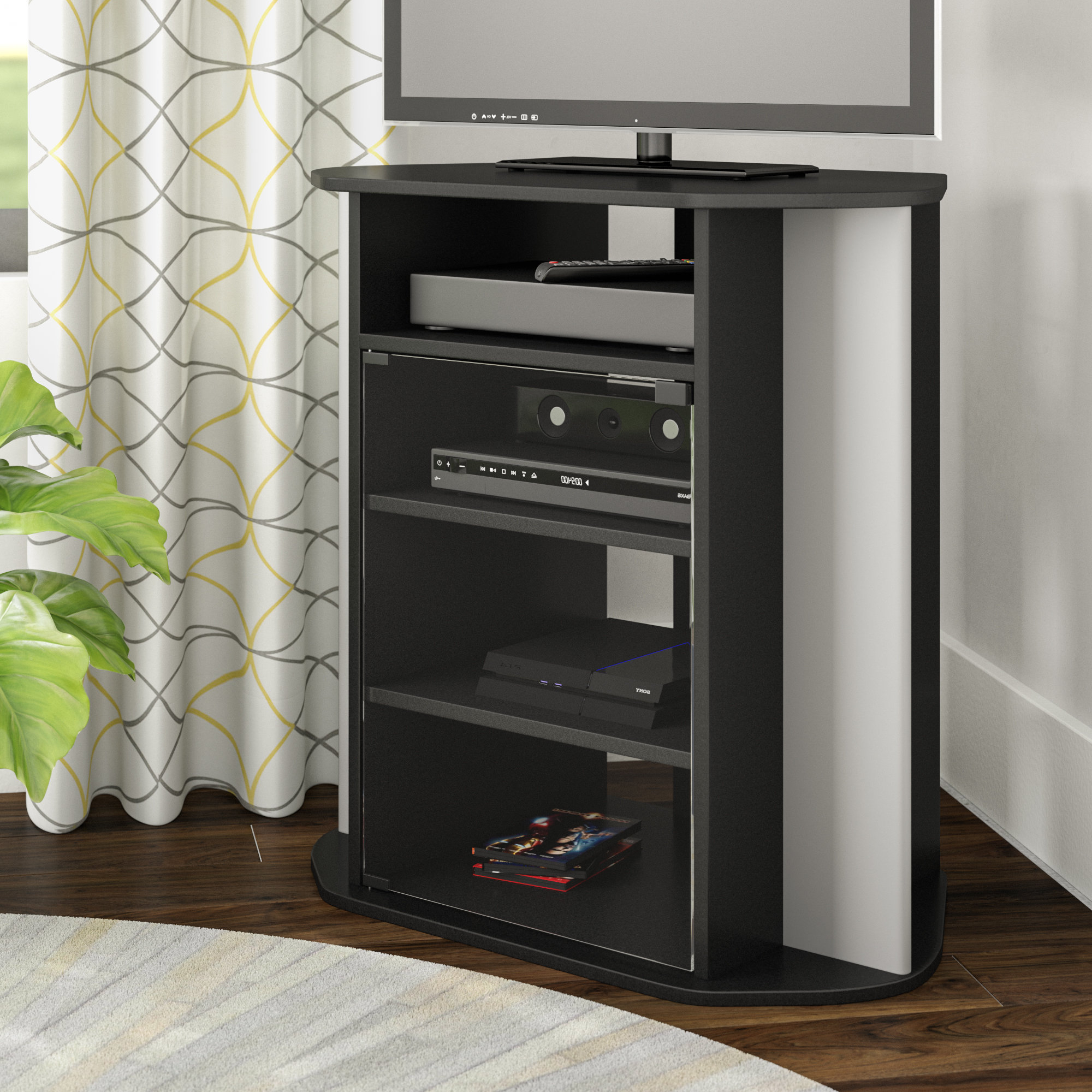 Tv Stands For Corners With Widely Used Corner Tv Stands You'll Love (View 15 of 20)
