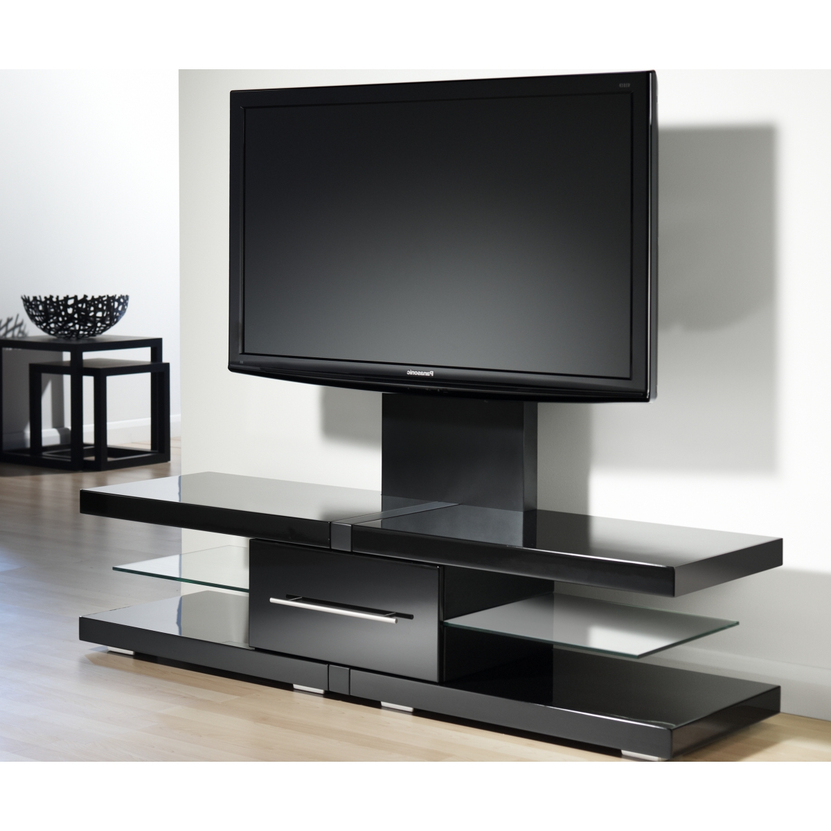 Tv Stands For Flat Screens On The Wall — Home Decorcoppercreekgroup Inside Newest Modern Tv Stands For Flat Screens (View 17 of 20)