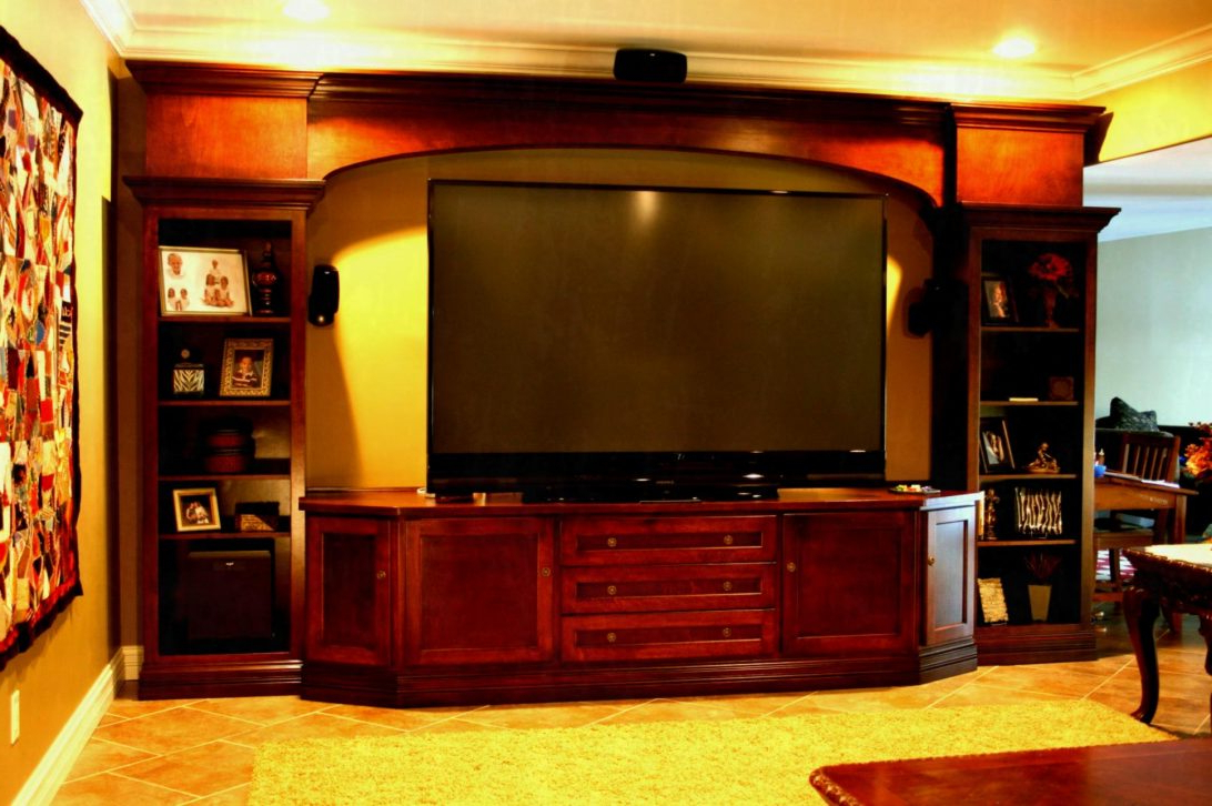 Tv Stands For Large Tvs Intended For Best And Newest Tv Stand With Mount 65 Inch Walmart Stands Photos Sears For Flat (View 11 of 20)