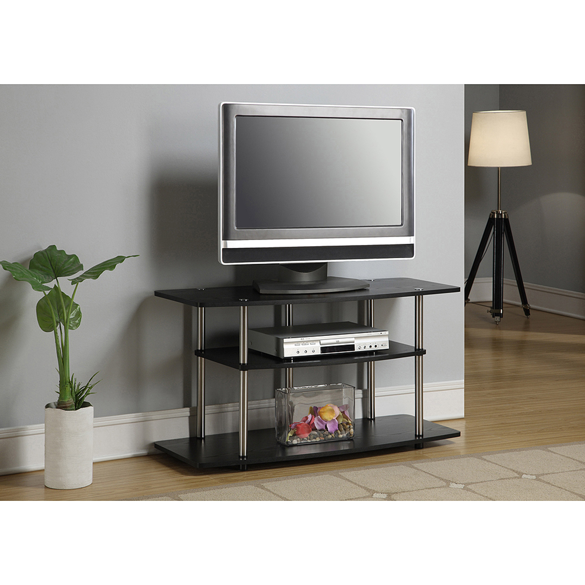"""Tv Stands For Large Tvs Throughout 2017 Nexera Arobas White 60"""" Tv Stand For Tvs Up To 66"""" – Walmart (View 13 of 20)"""