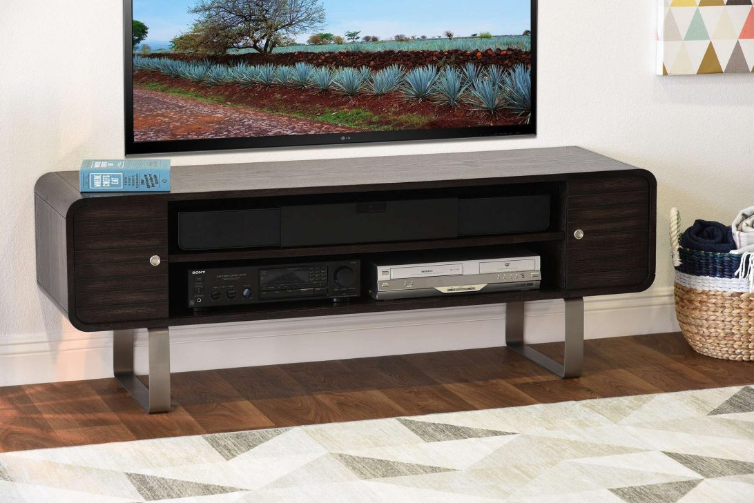 Tv Stands Rounded Corners Inside Fashionable Tv Stand With Rounded Corners Round Designs Within Stands Modern (View 2 of 20)