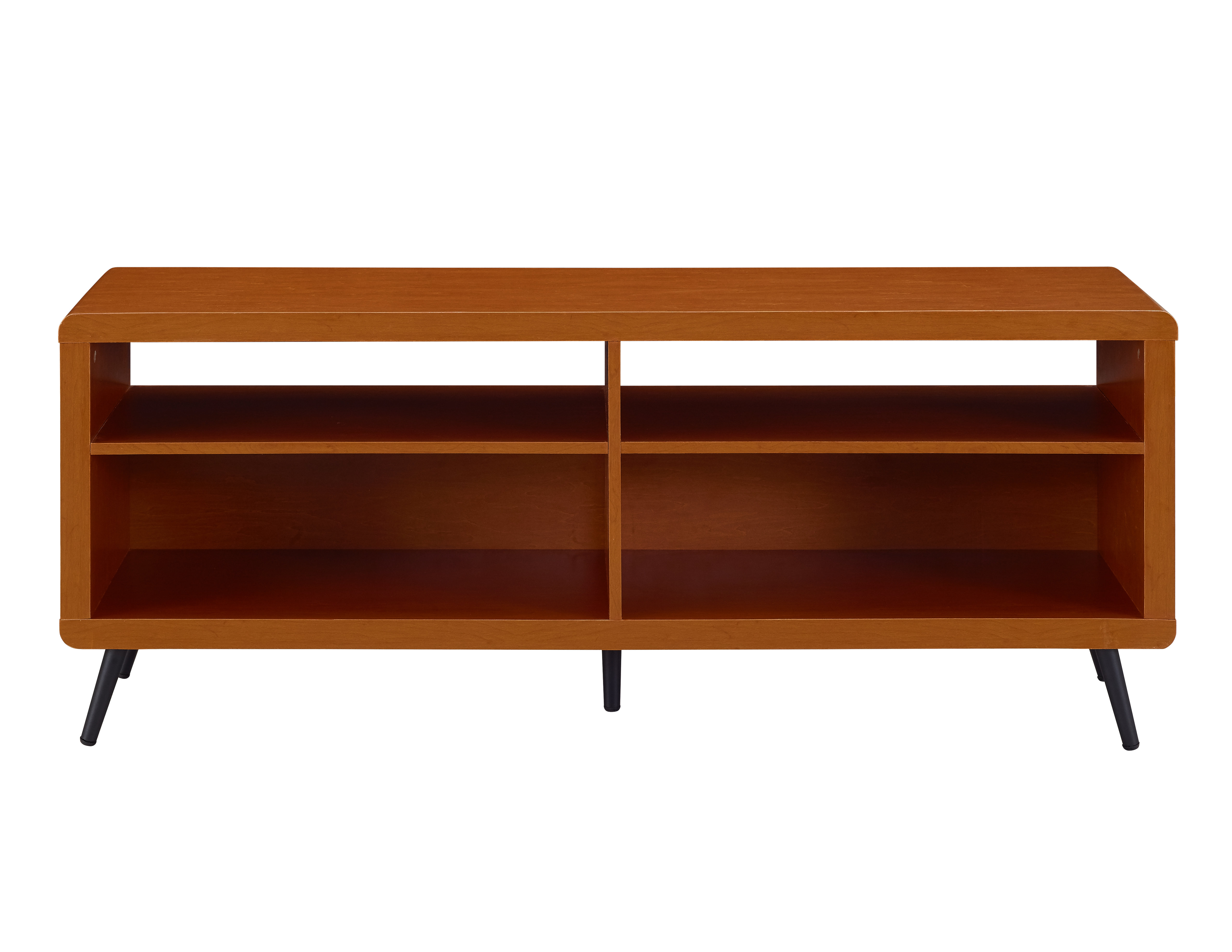 Tv Stands Rounded Corners Throughout Well Known Ivy Bronx Difranco Rounded Corner Wood 147cm Tv Stand & Reviews (View 6 of 20)