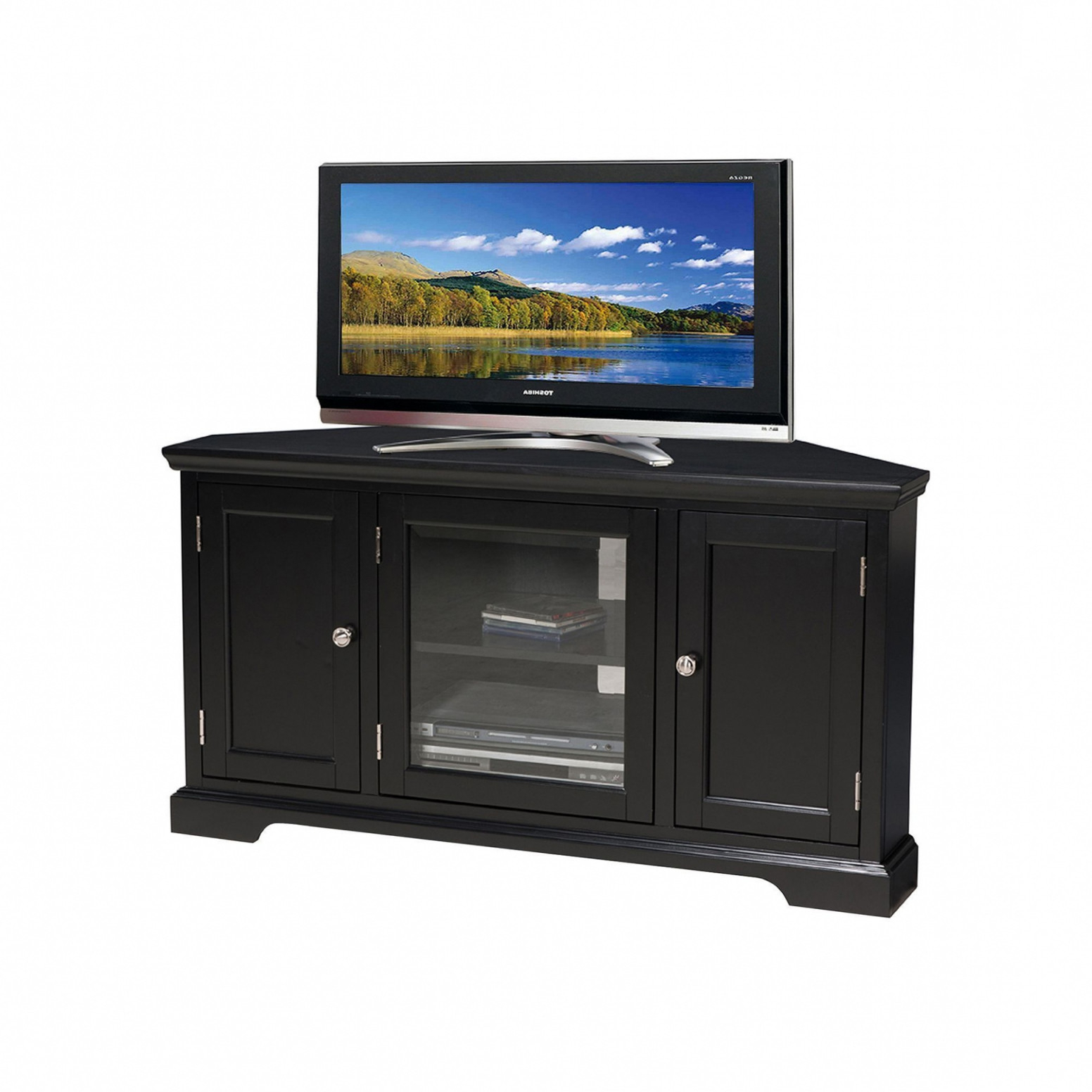 Tv Stands Rounded Corners With Regard To Most Current Round Tv Stand Inspirant Temahome Concrete Tv Stand Furniture I (View 18 of 20)