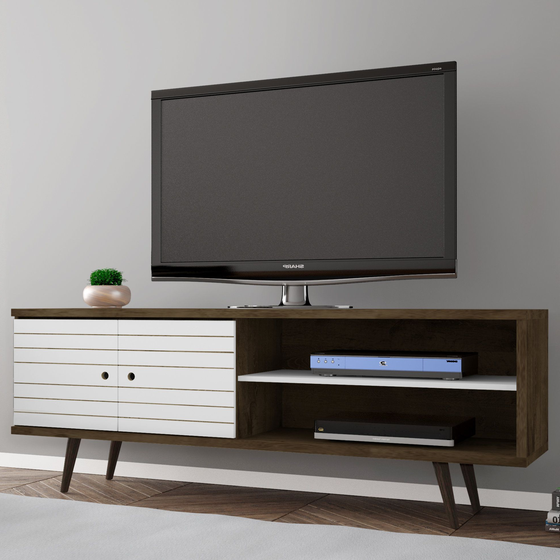 Tv Stands, Solid Wood And (View 19 of 20)