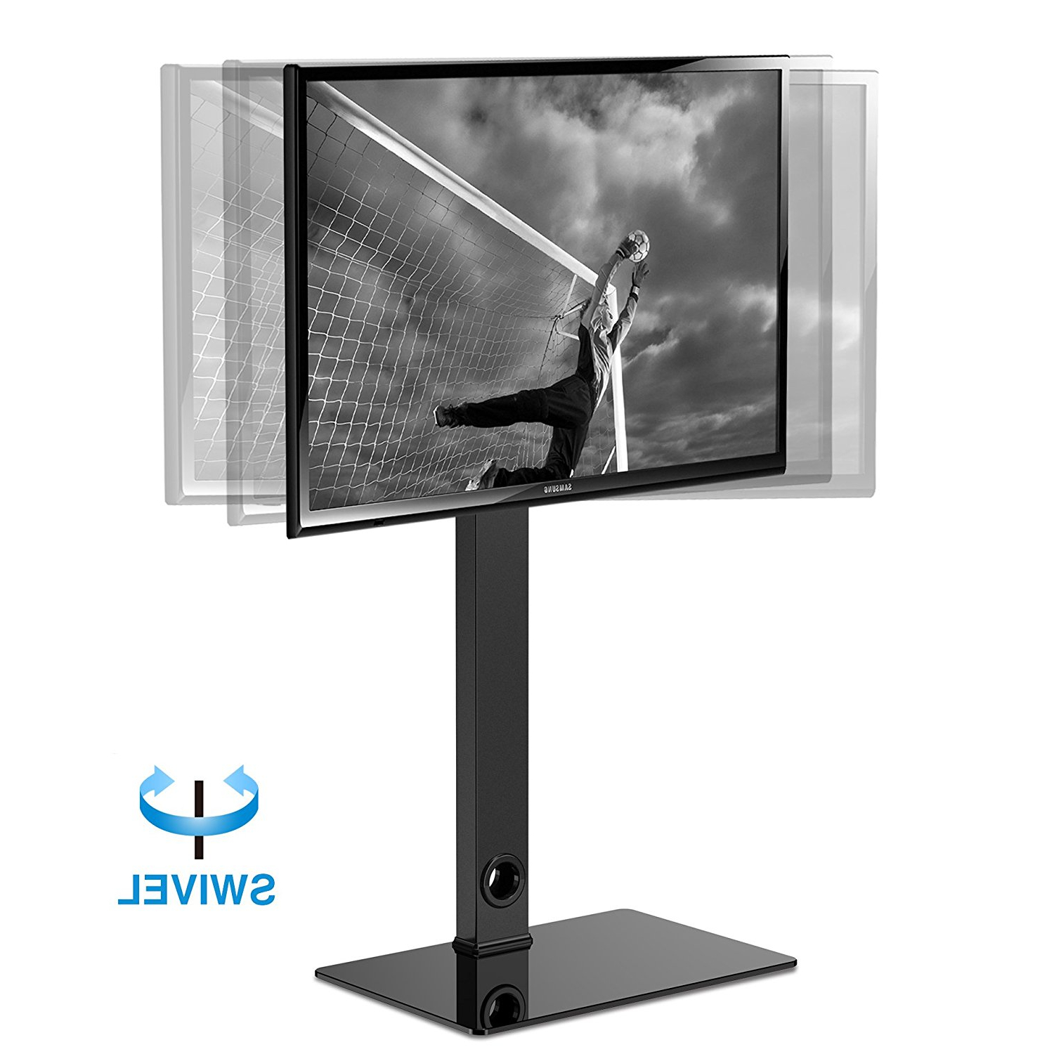 Tv Stands Swivel Mount For Favorite Fitueyes Tv Stand With Swivel Mount For Up To 55 Inch Samsung Vizio (View 13 of 20)