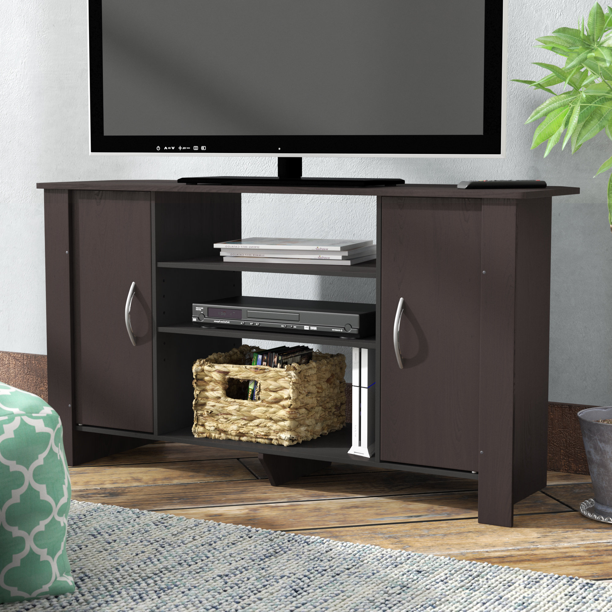 Tv Stands With Rounded Corners With Most Up To Date Curved Tv Stand (View 16 of 20)