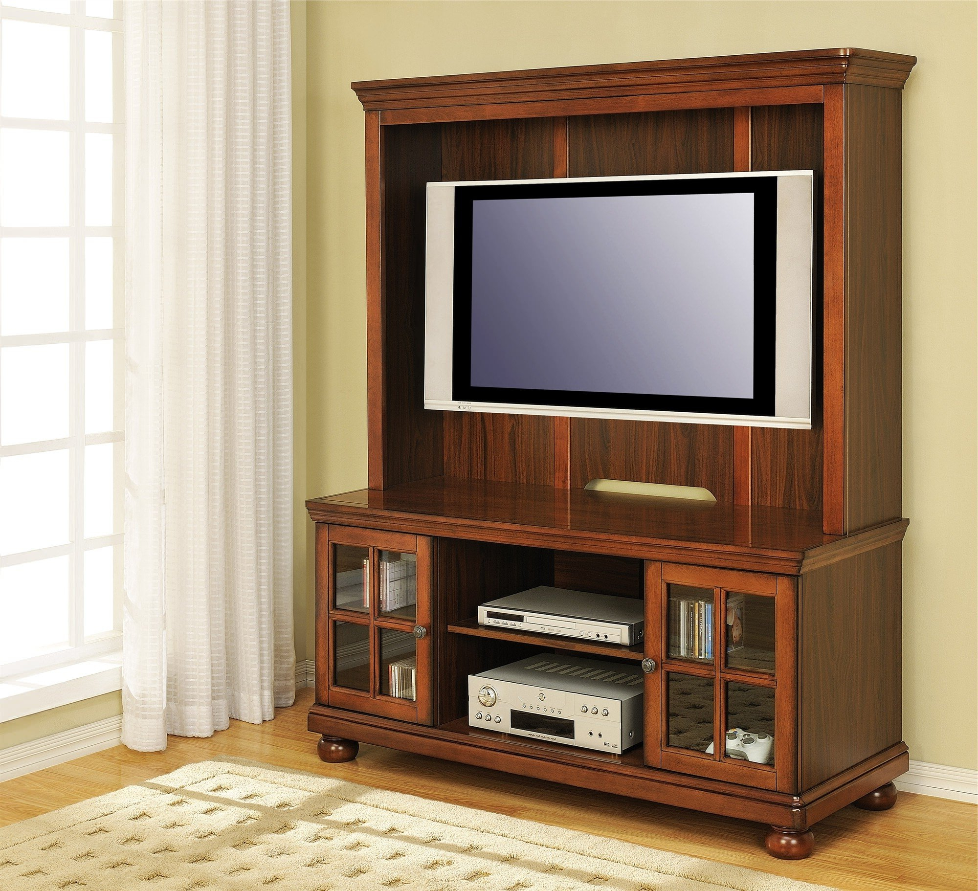 Tv Wall Cabinets Inside Popular Flat Screen Tv Wall Cabinet Furniture — Allin The Details : Tips For (View 14 of 20)