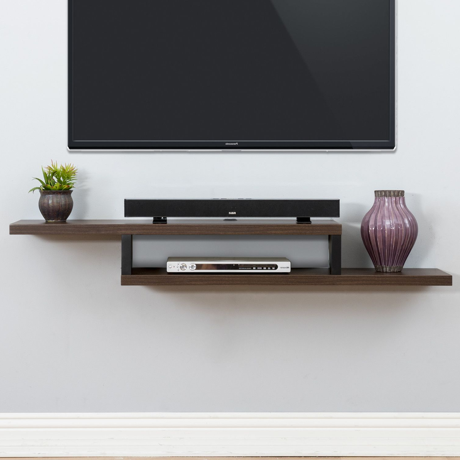 Tv Wall Mount Style Ideas To Combine With Your Attractive And With Famous Console Tables Under Wall Mounted Tv (View 9 of 20)