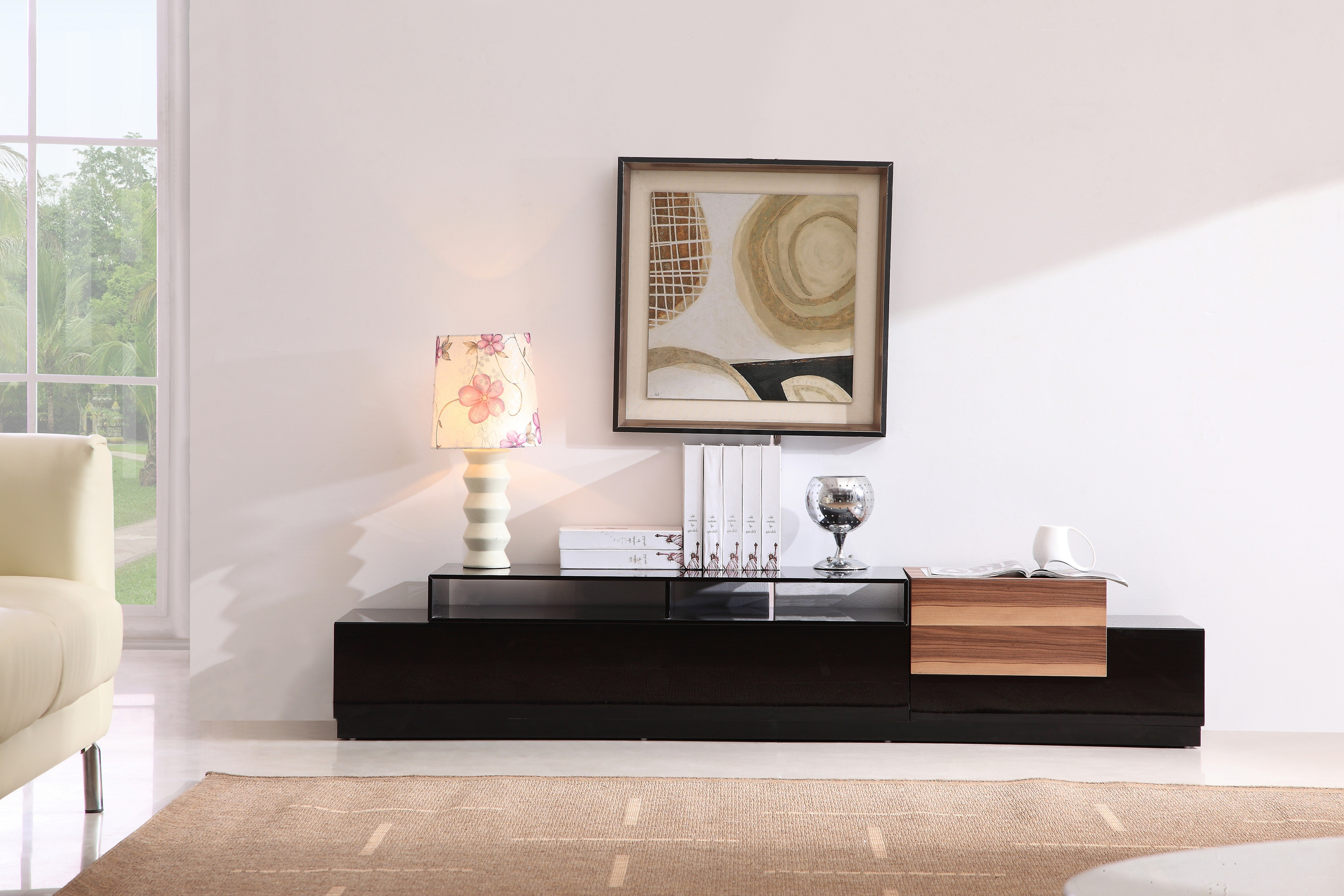 Tv072 Modern Tv Stand Pertaining To Best And Newest Contemporary Modern Tv Stands (View 19 of 20)