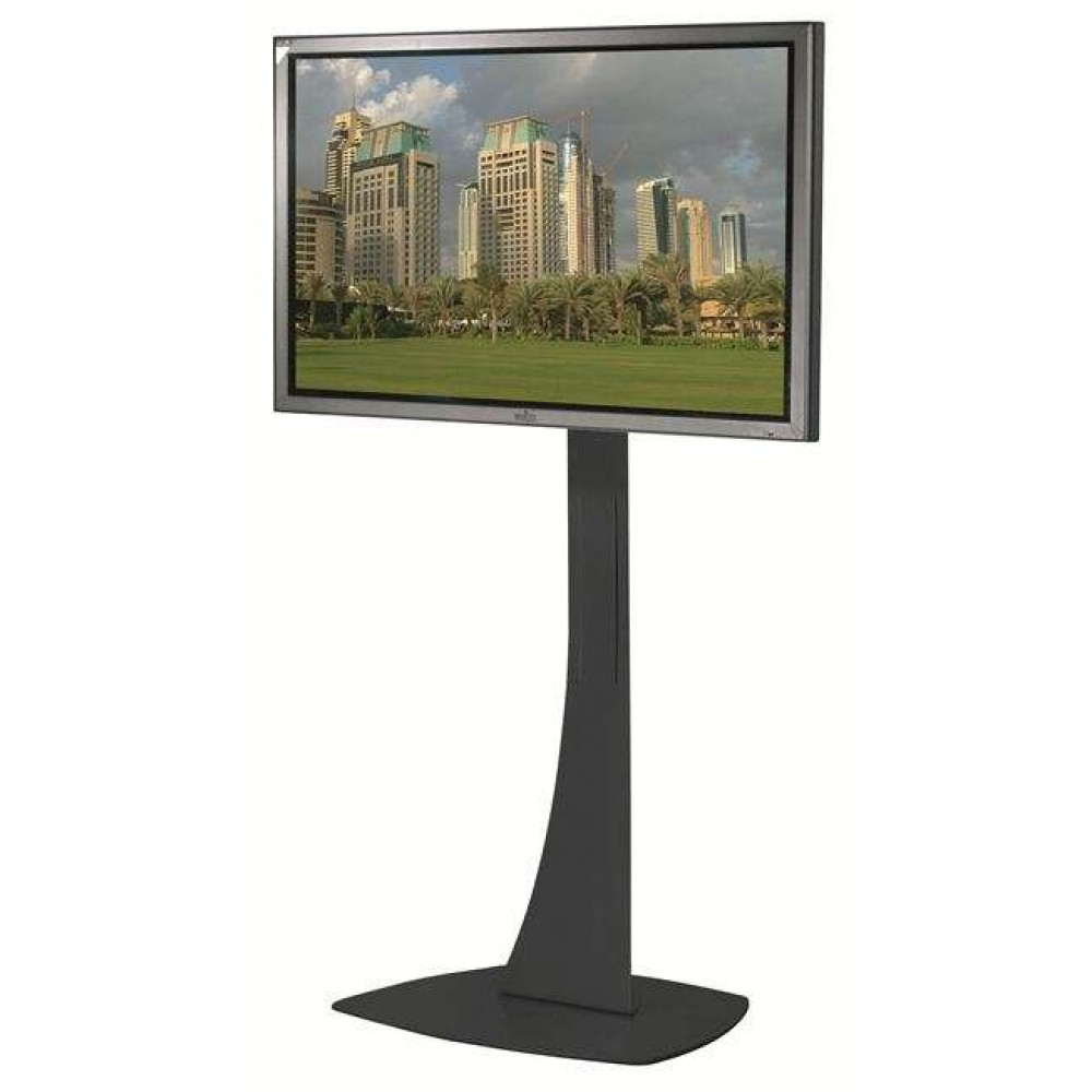 Unicol Axia Ax15P High Thin Base Led Lcd Plasma Tv Stand Intended For Most Recent Slim Tv Stands (View 12 of 20)