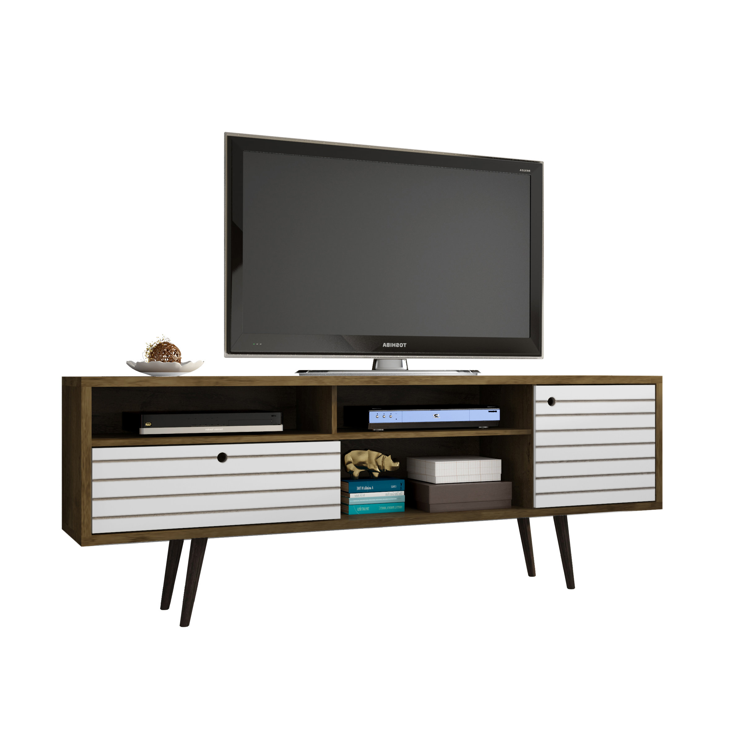 Unique Tv Stands For Flat Screens Inside Well Known Modern Tv Stands & Entertainment Centers (Gallery 6 of 20)