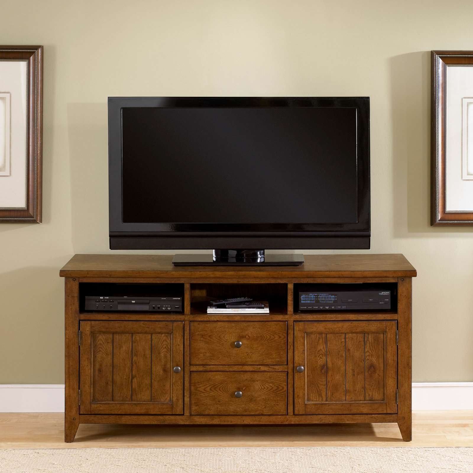 Unique Tv Stands For Flat Screens Inside Well Known Unique Oak Rustic Tv Stands For Flat Screens : Rustic Tv Stands For (Gallery 12 of 20)