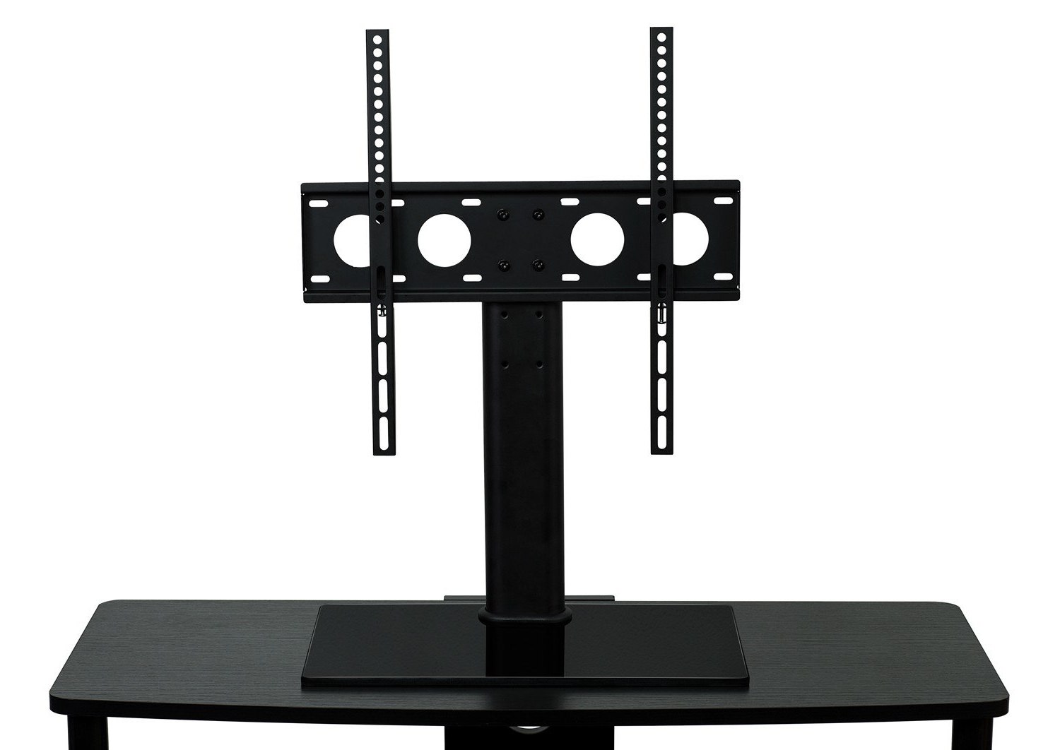 Universal Flat Screen Tv Stands Within Trendy Mount It Tv Stand Universal Table Top Flat Screen Television Base (View 16 of 20)