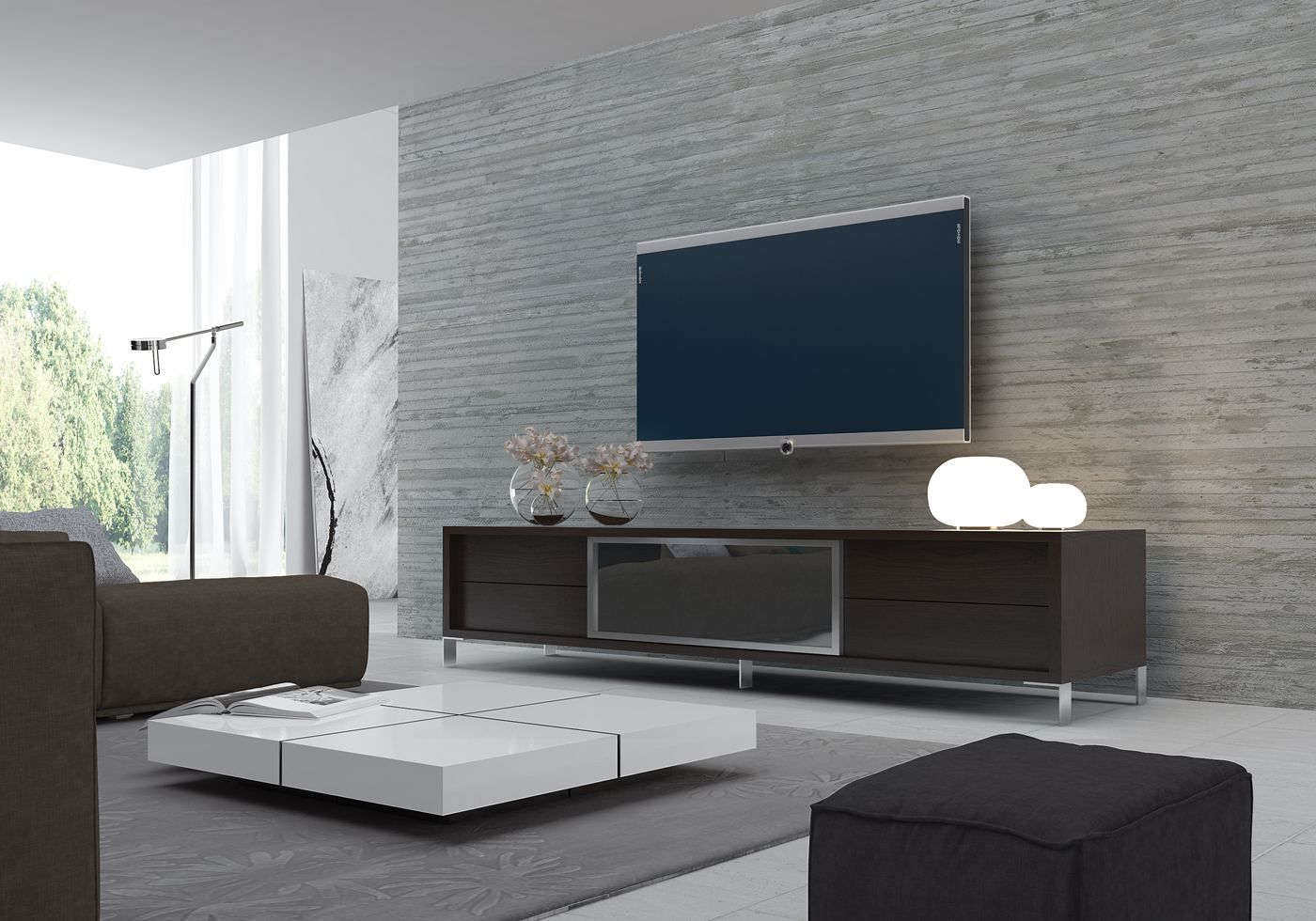 Unusual Tv Consoles How To Prop Up A Without Stand Cheap Ideas In Favorite Unusual Tv Stands (Gallery 7 of 20)