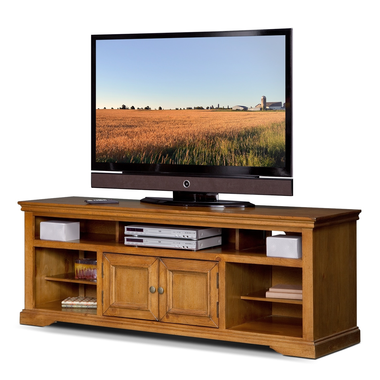 Value City Furniture And Mattresses With Pine Wood Tv Stands (View 5 of 20)